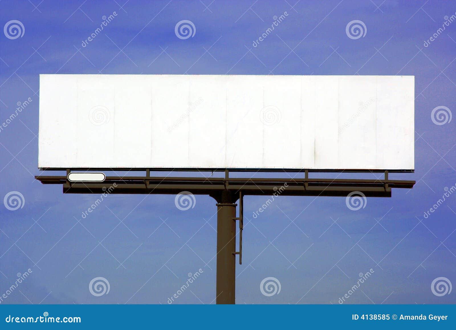 Blank Highway billboard