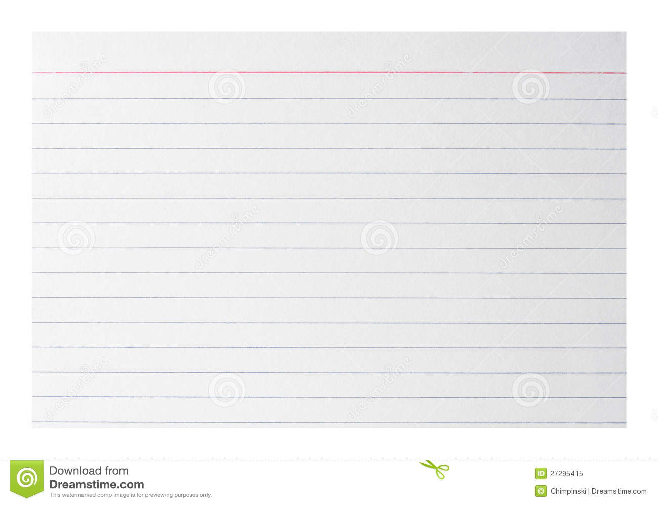 printable 3x5 index cards