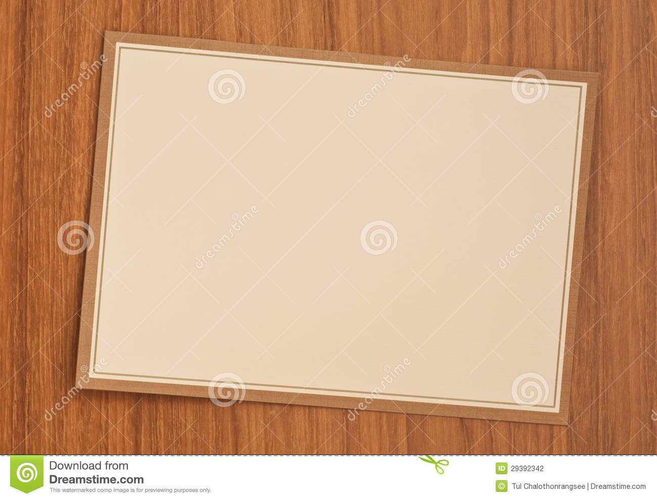 Blank Invitation Card Photography Image 29392342 – Blank Invitation Card