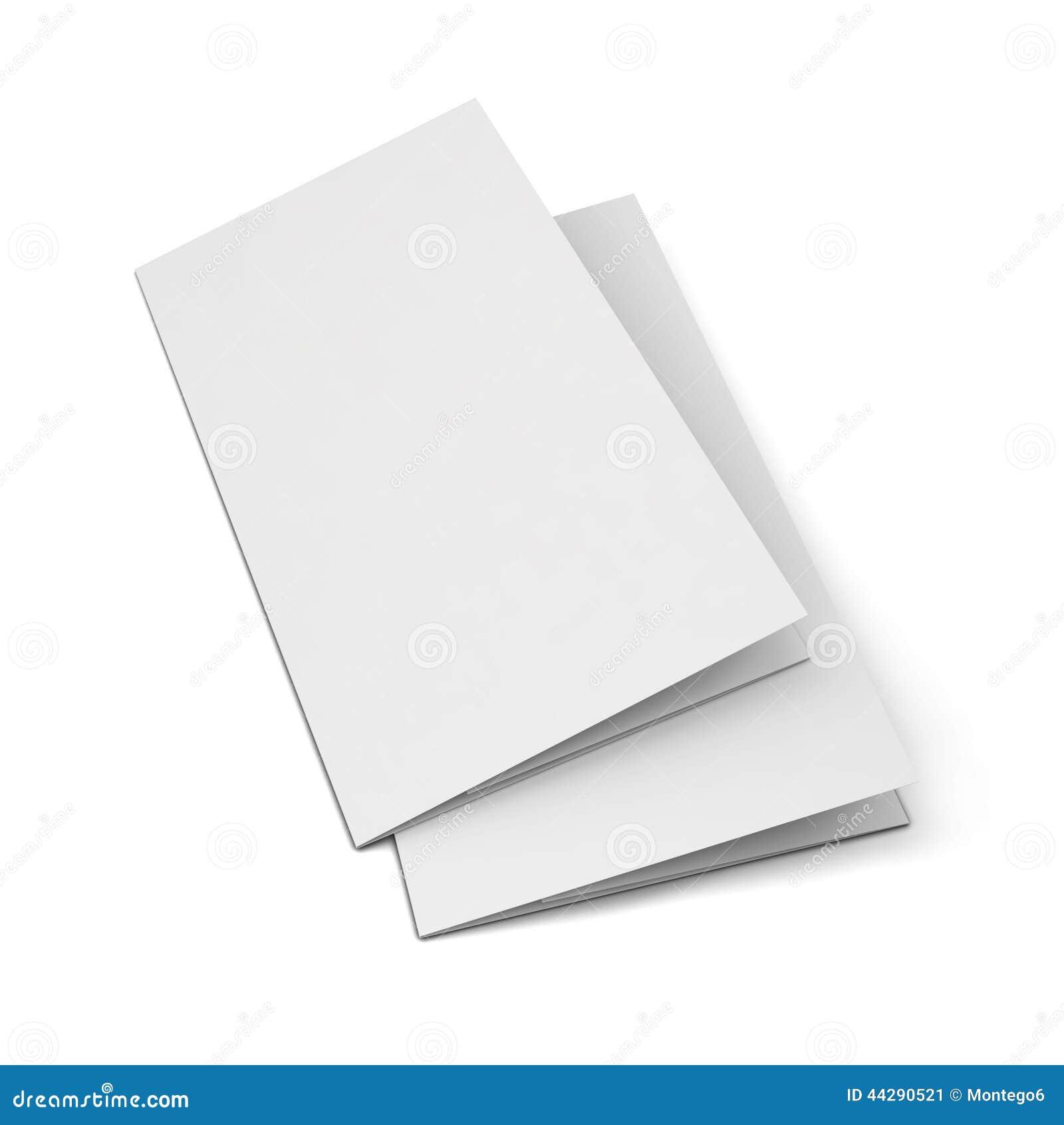 Blank Leaflet Illustration Image 44290521 – Blank Brochure