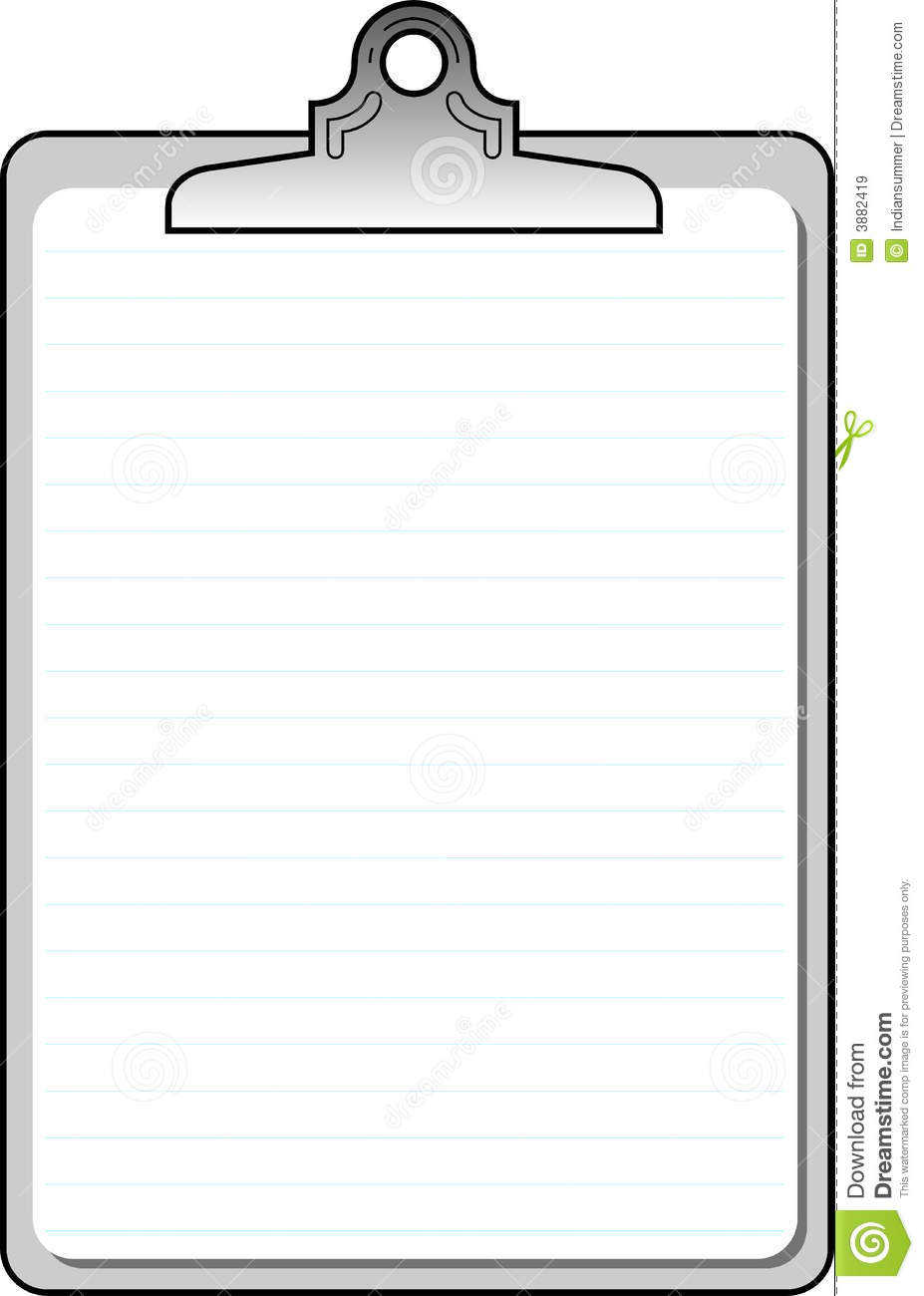 blank lined notebook background stock vector