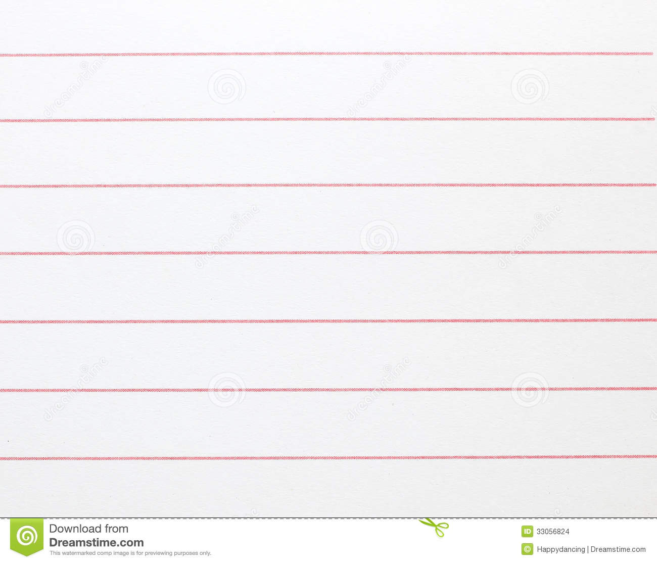 blank lined notebook paper background stock photo - image of lined