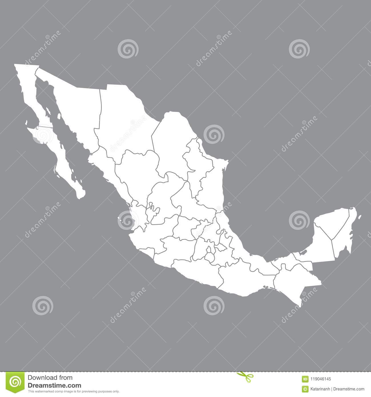 Blank map mexico map of mexico with the provinces high quality map download blank map mexico map of mexico with the provinces high quality map of gumiabroncs Image collections