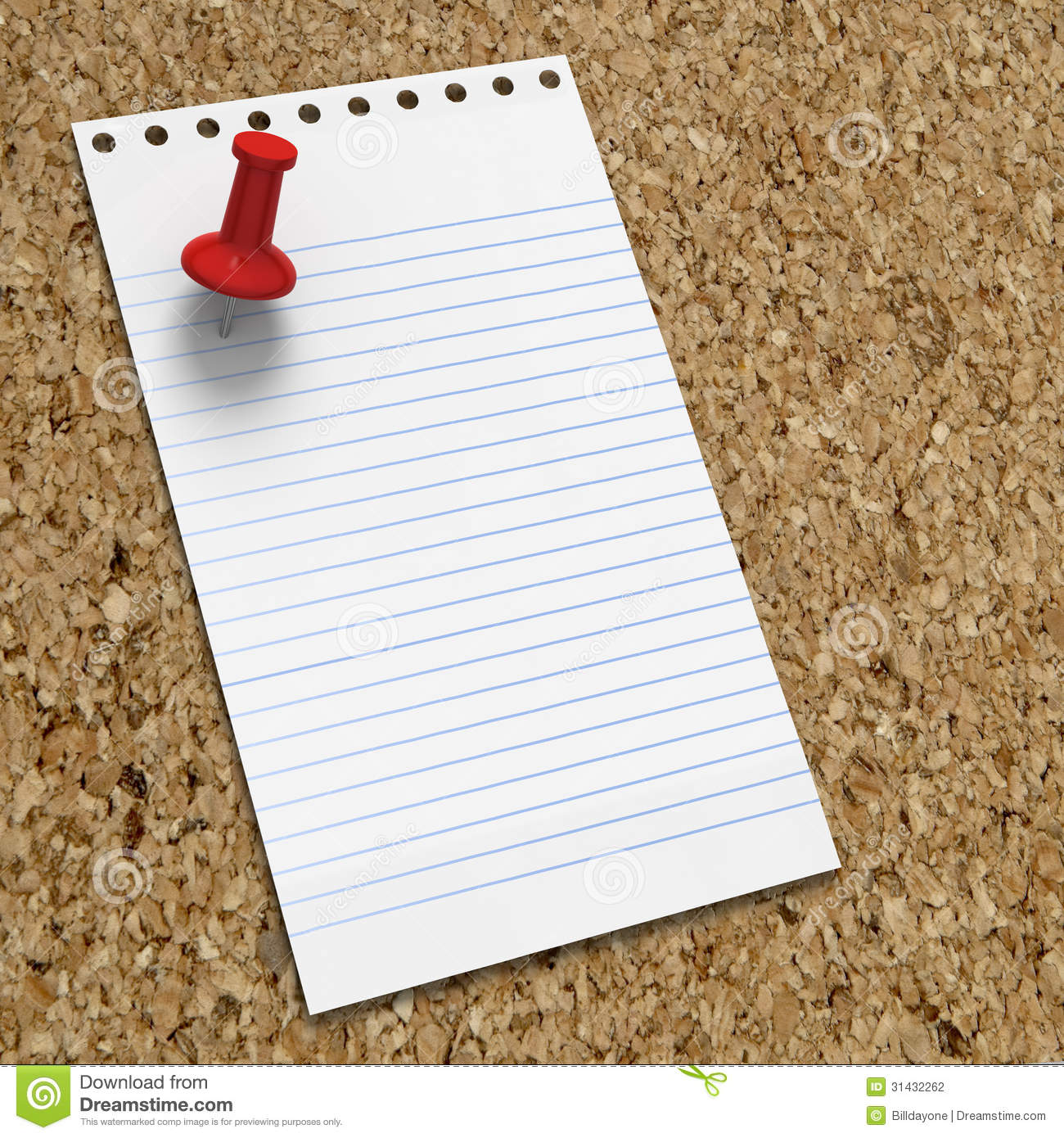 blank memo on corkboard red pushpin stock photography image blank memo on corkboard red pushpin