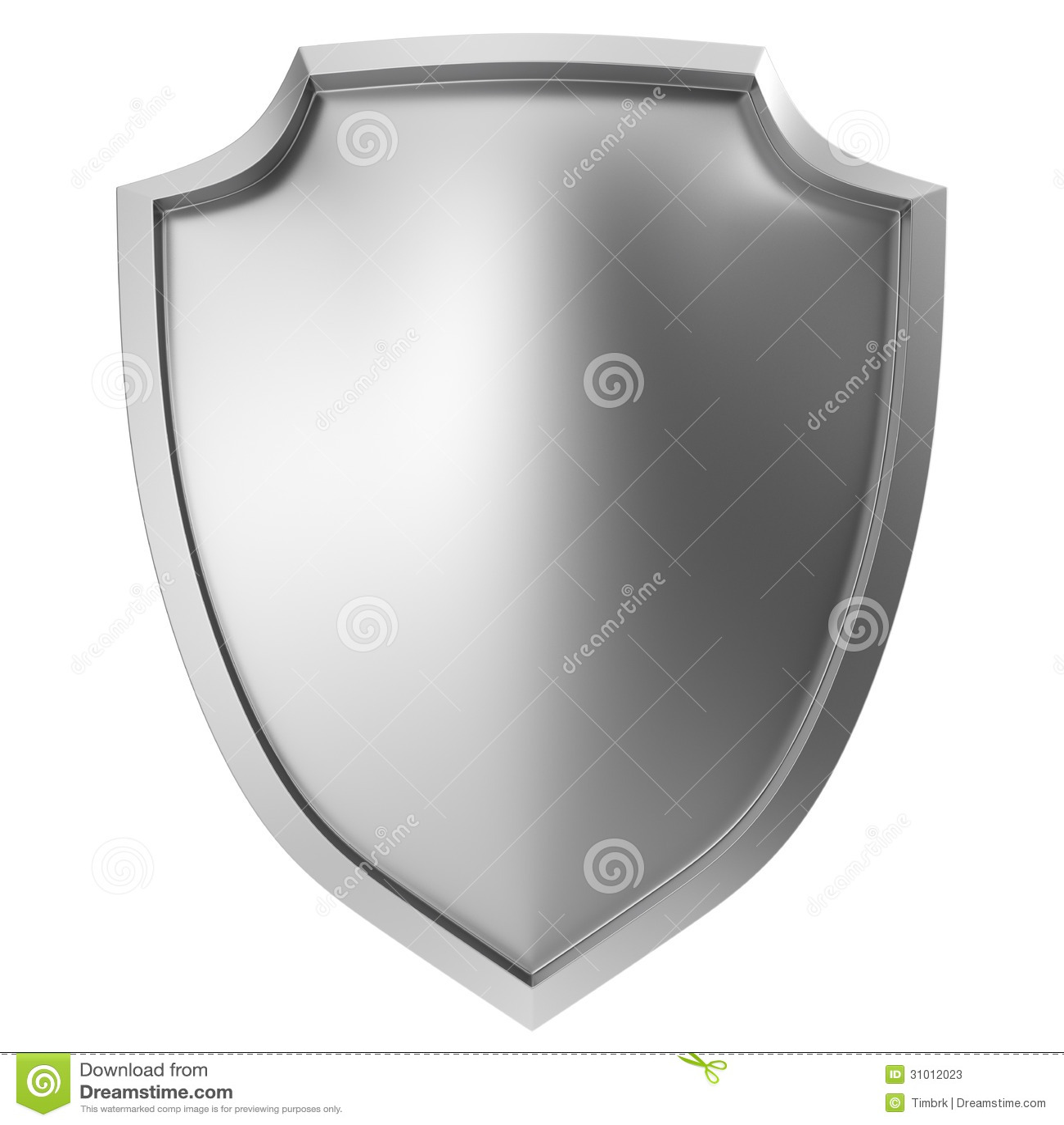 Blank metal shield