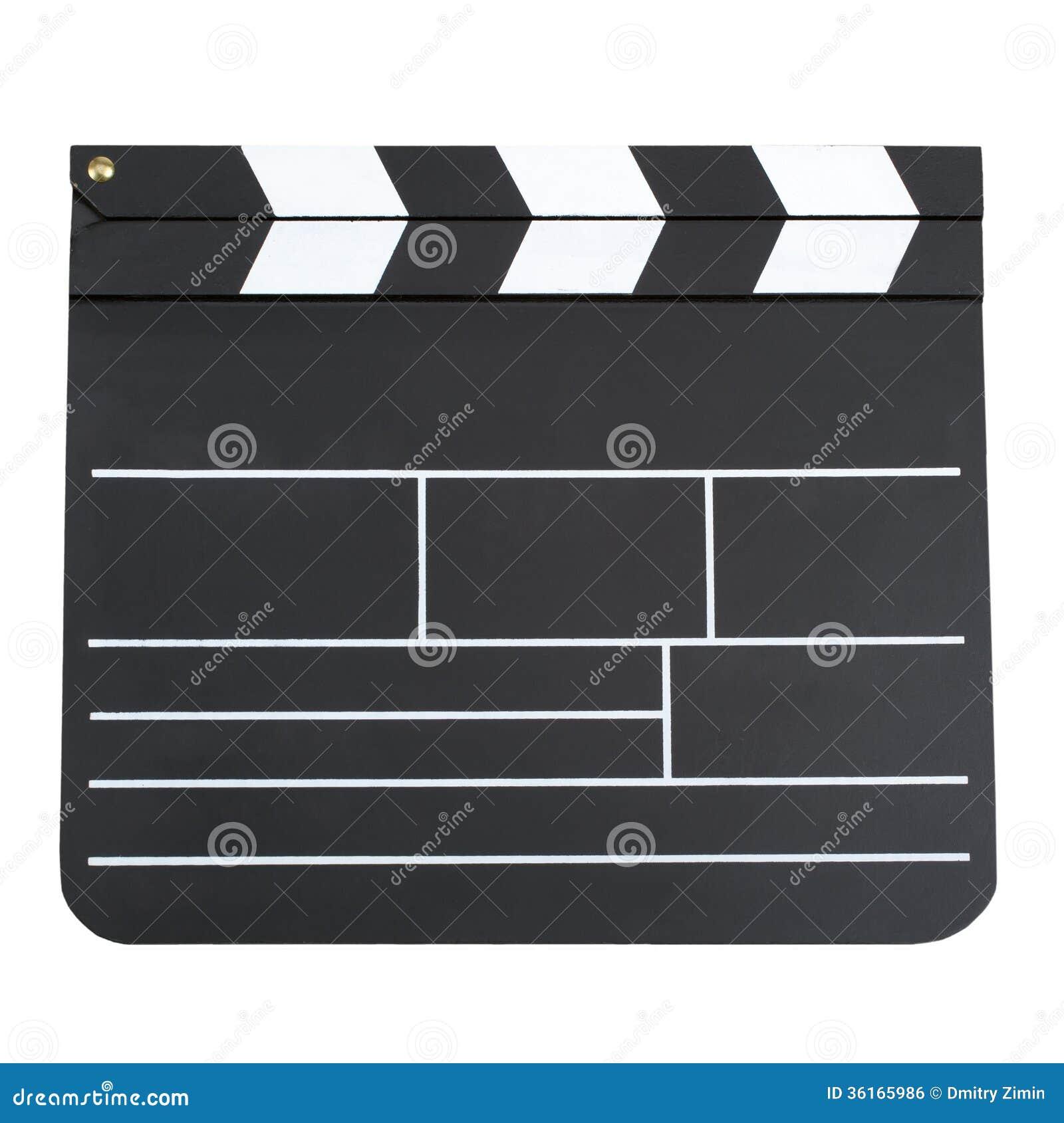 blank film slate - photo #18