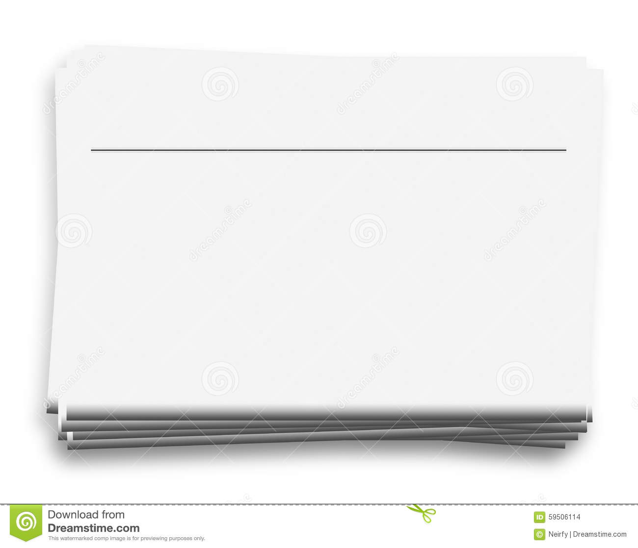 blank news papers stock photo  image of gazette  blank