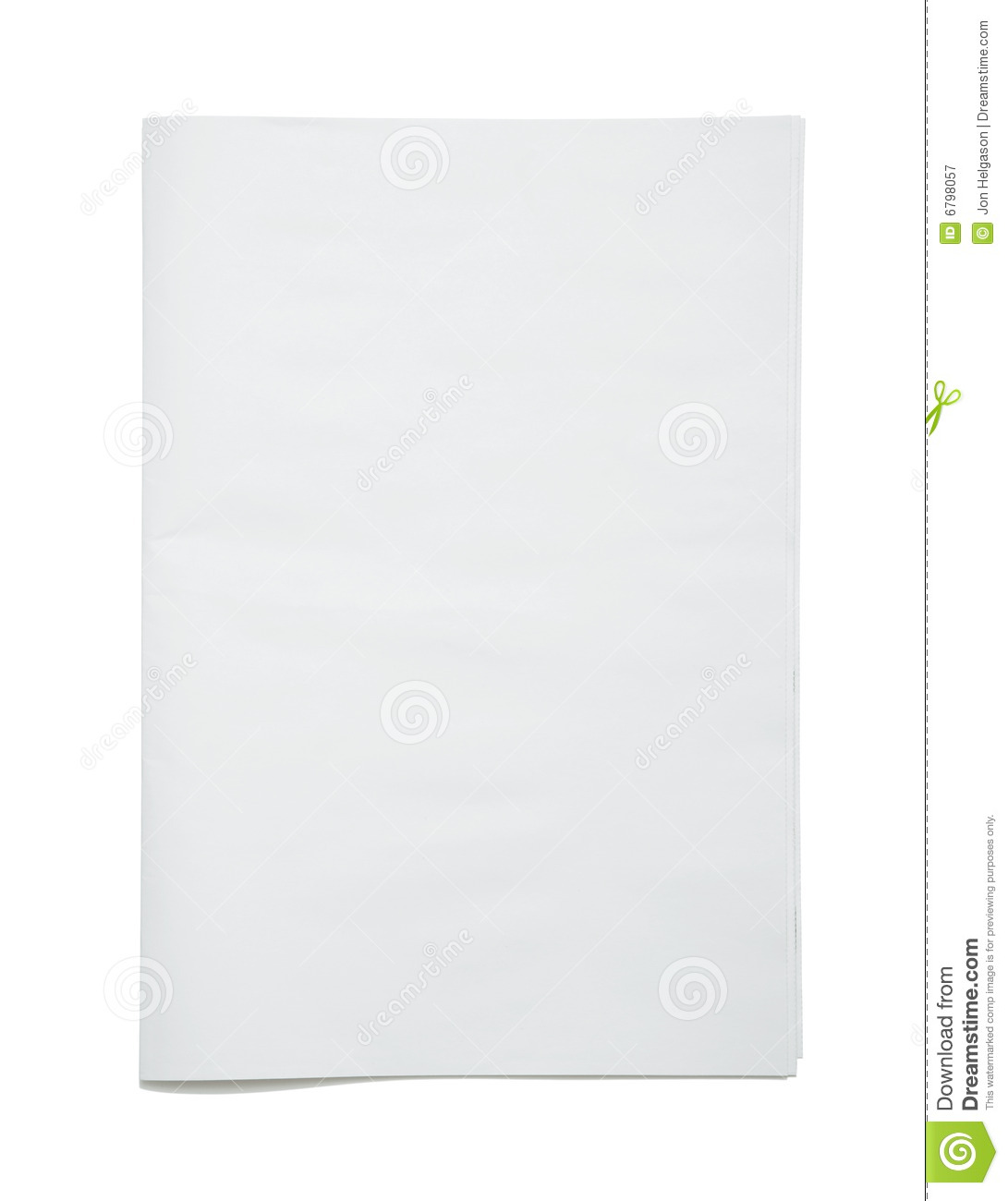 blank newspaper frontpage stock image. image of broadsheet - 6798057