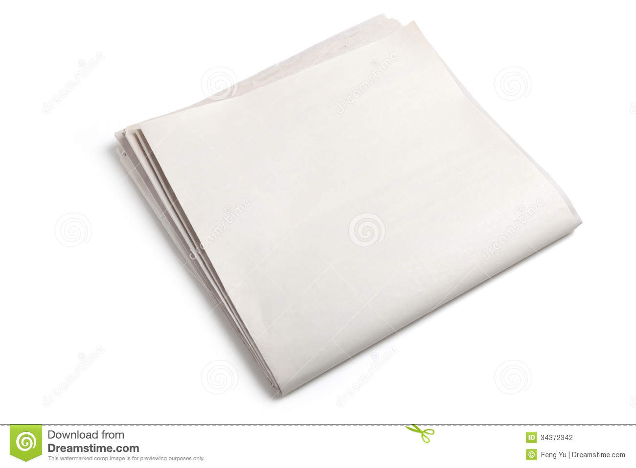 blank newspaper stock photo. image of space, news, communication