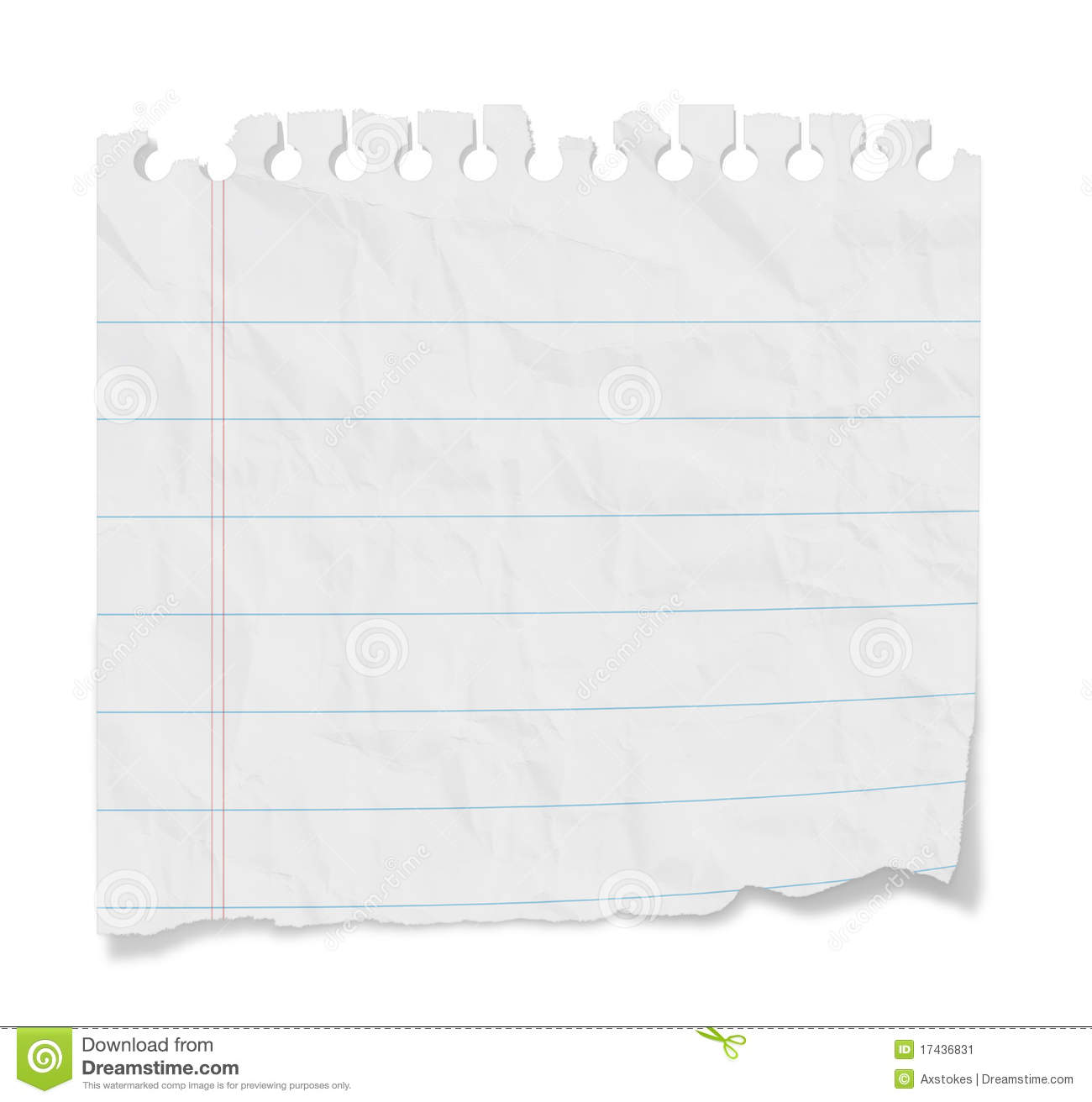 Blank Note Lined Paper Image Image 17436831 – Lined Blank Paper