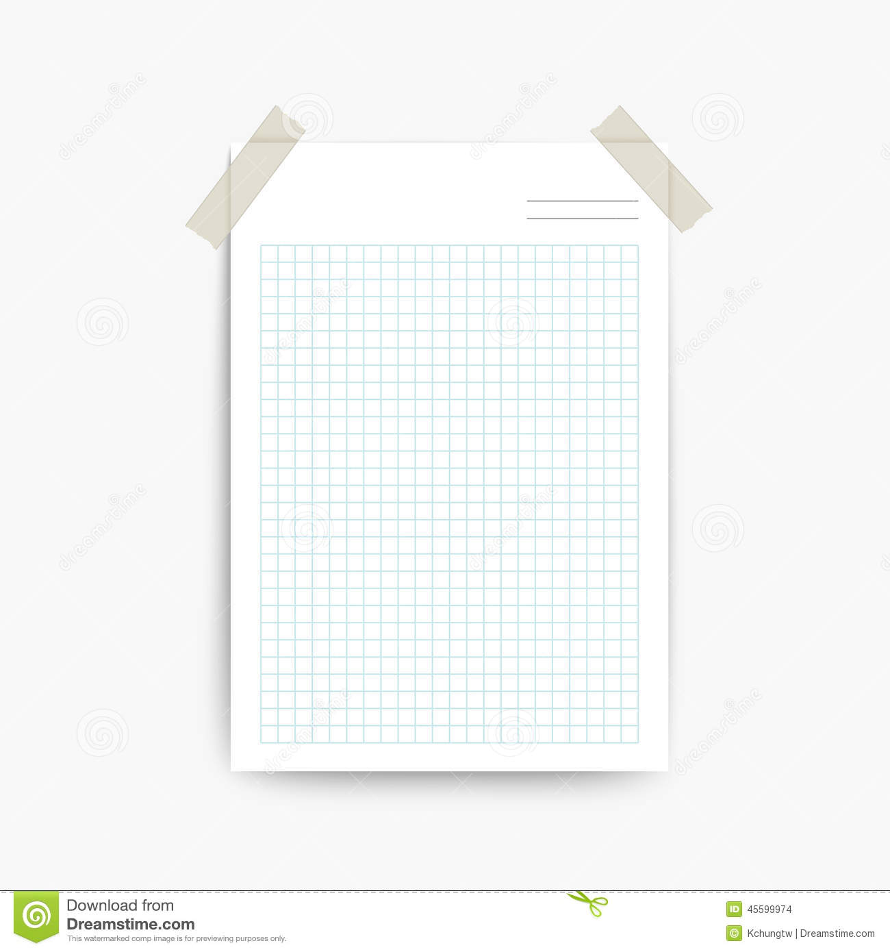 Blank Note Paper Template  Note Paper Template