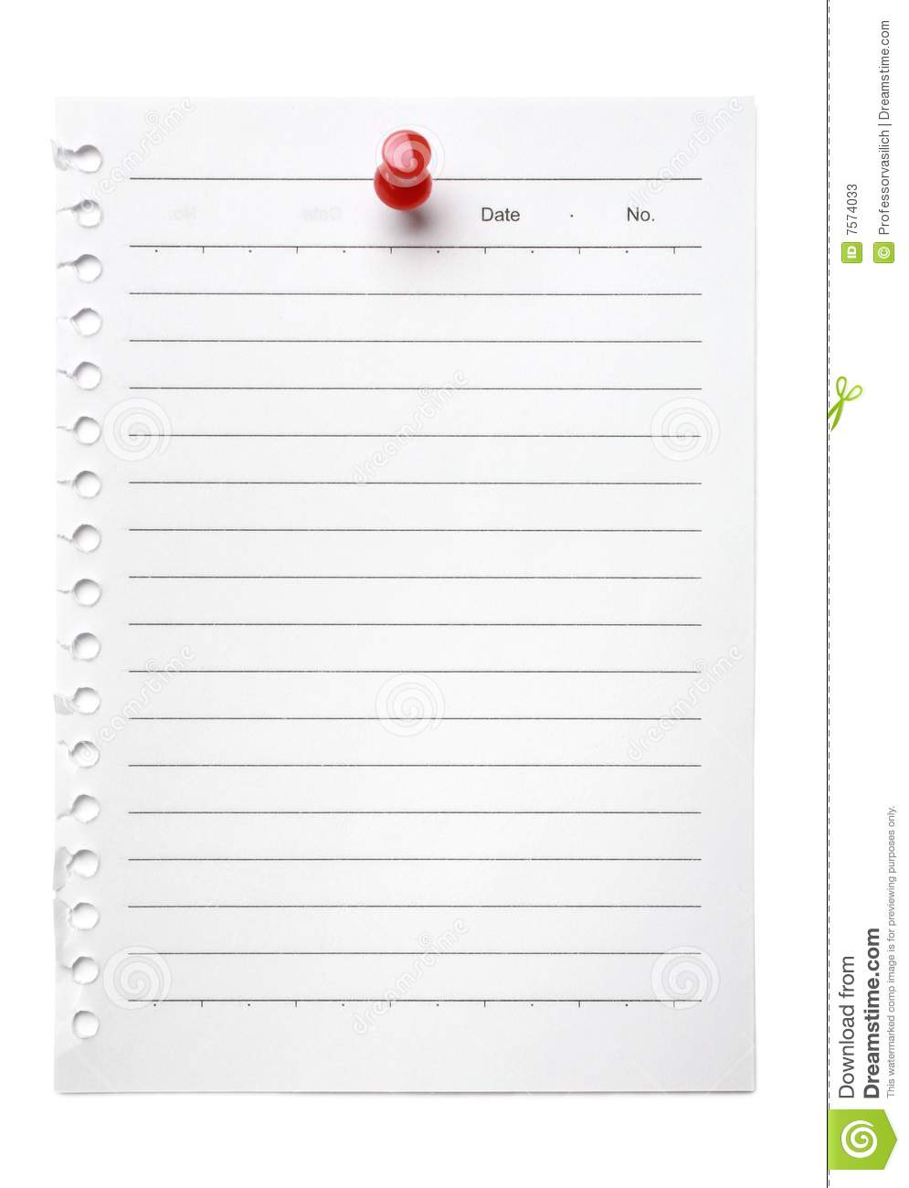Blank note to do list stock photos image 7574033