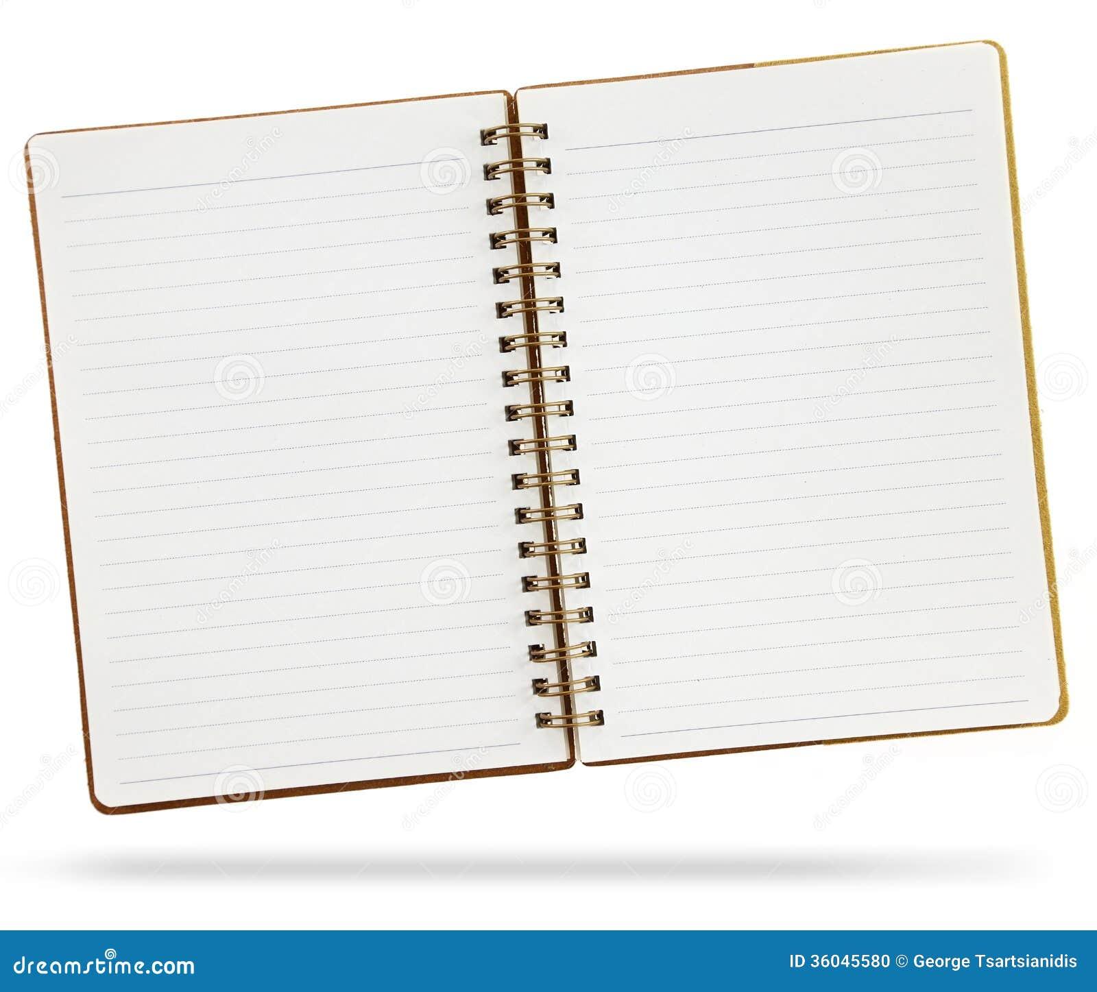 Blank Notebook Stock Photo Image Of Cookbook Bulletin