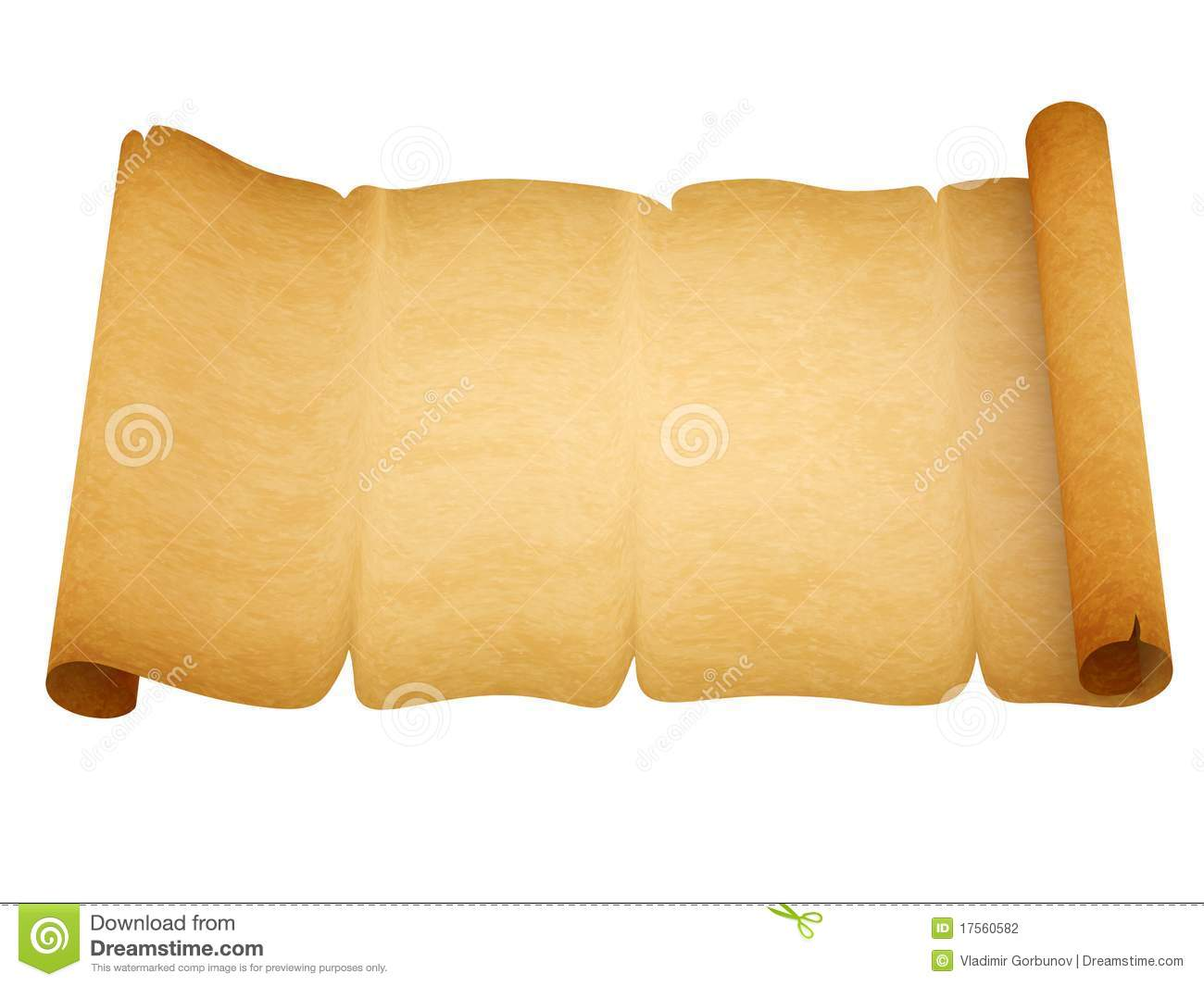Blank Old Style Sheet Of Paper With Uneven Edges Stock Photography ...