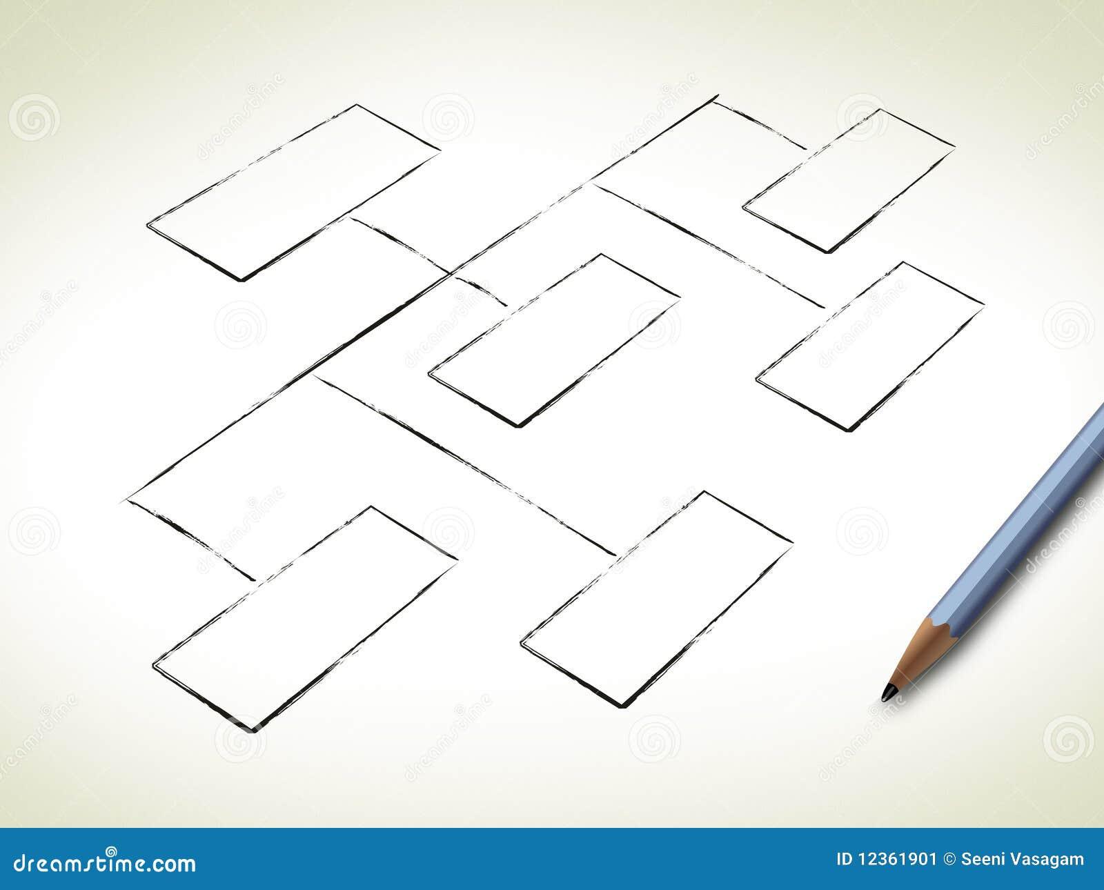Blank Organization Chart Image Image 12361901 – Blank Organizational Chart