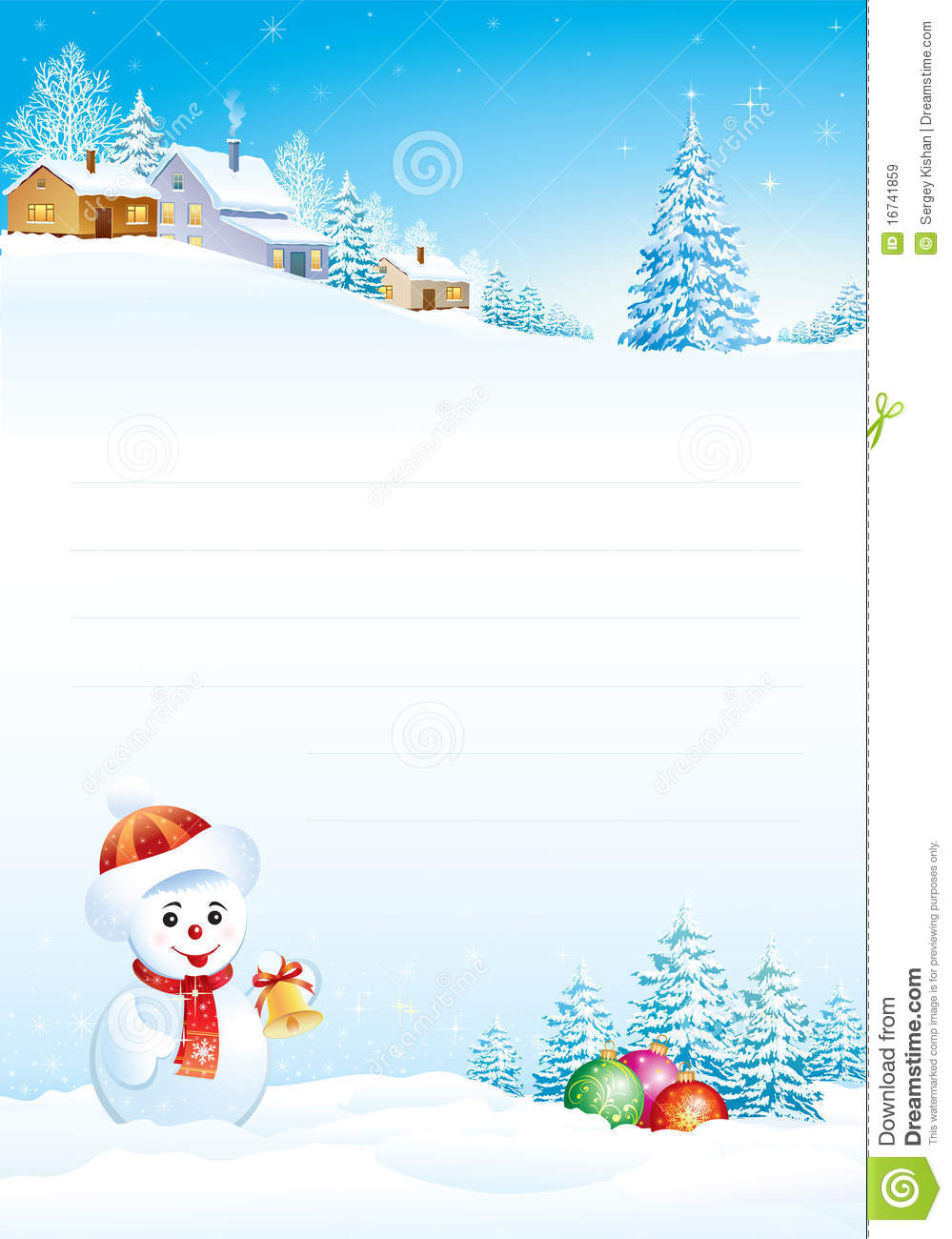 Blank Christmas Paper | New Calendar Template Site