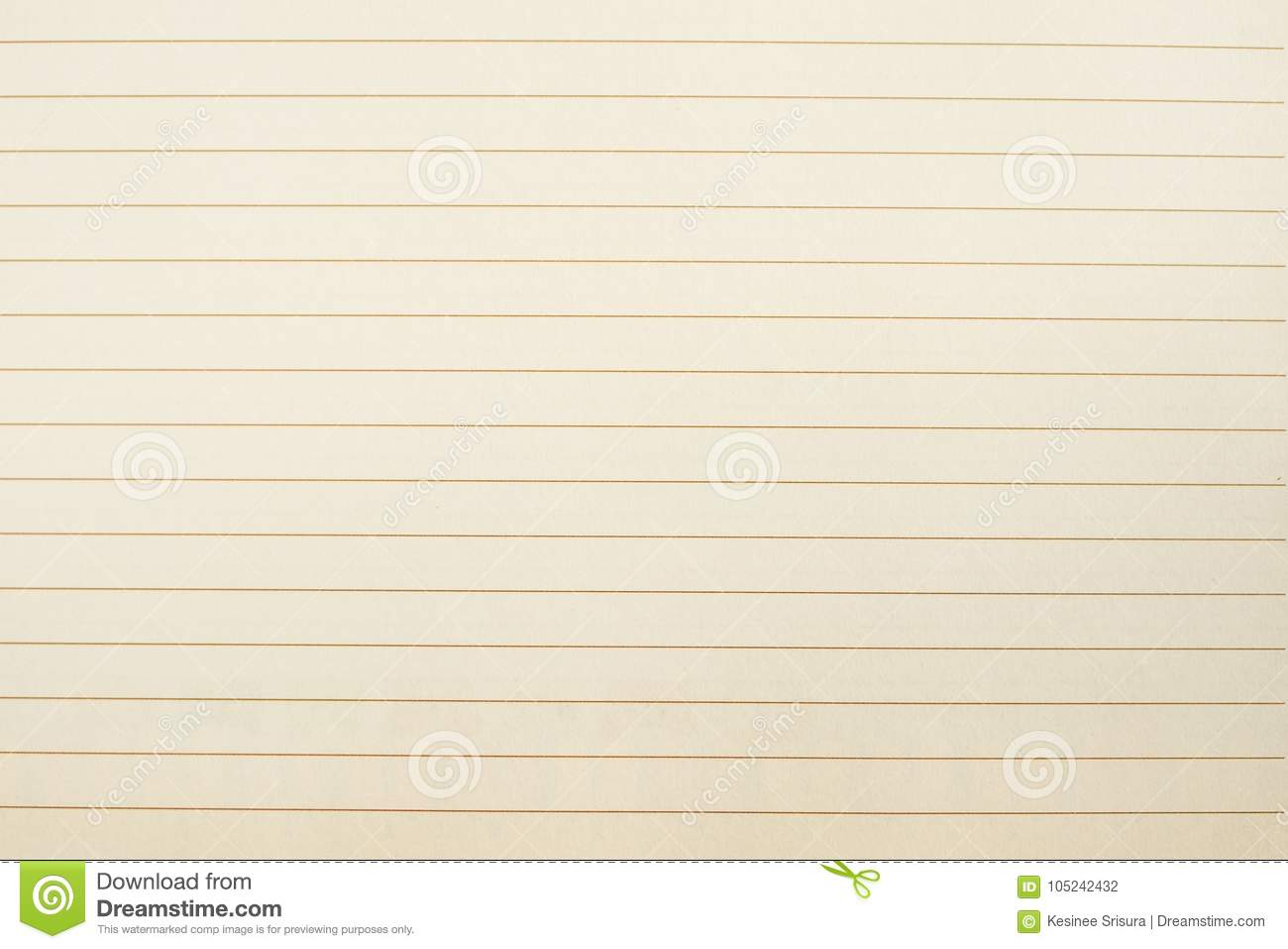 blank paper with lines as a guide for handwriting stock photo