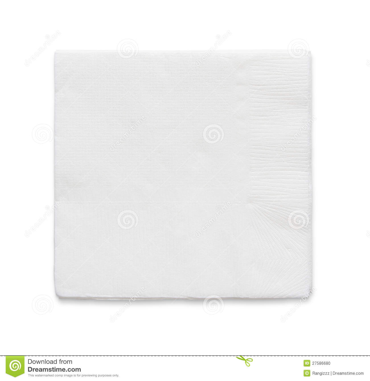 Blank Paper Napkin Stock Photo Image Of Graphic Health