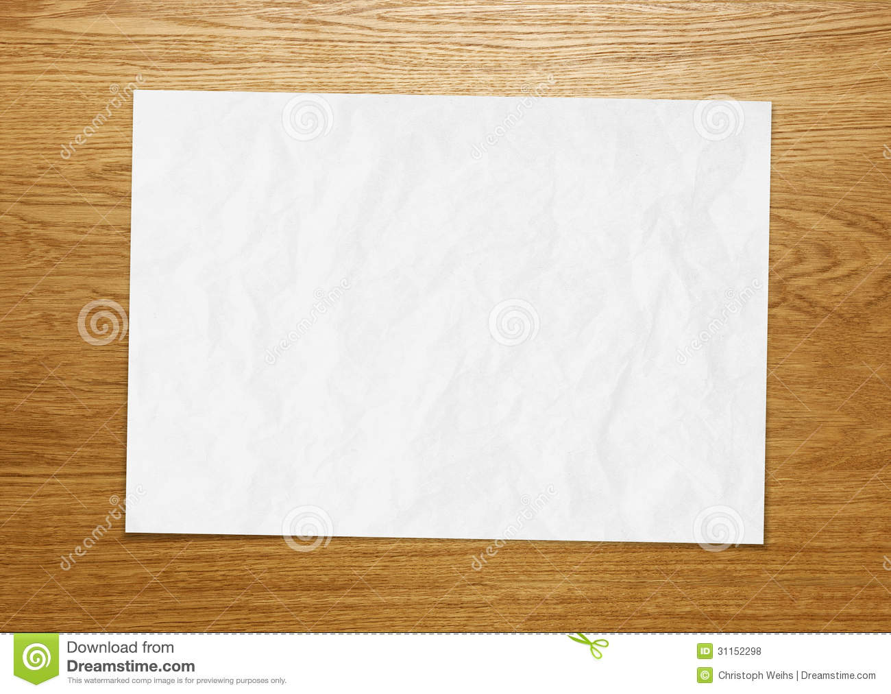 Blank Paper Texture Wood Royalty Free Stock Photos Image