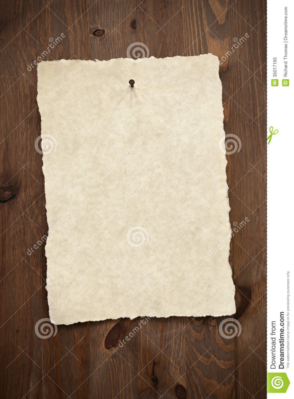 Blank Wanted Poster Paper Blank Parchment Paper ...