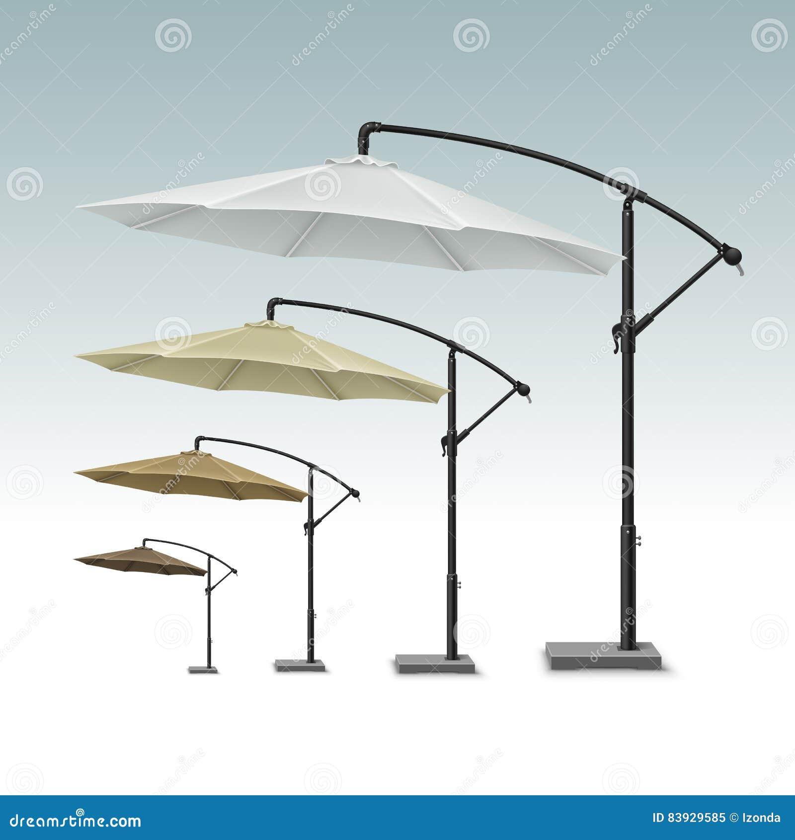 Blank Patio Outdoor Beach Cafe Umbrella Parasol Stock Vector Illustration Of Parasol Relax 83929585