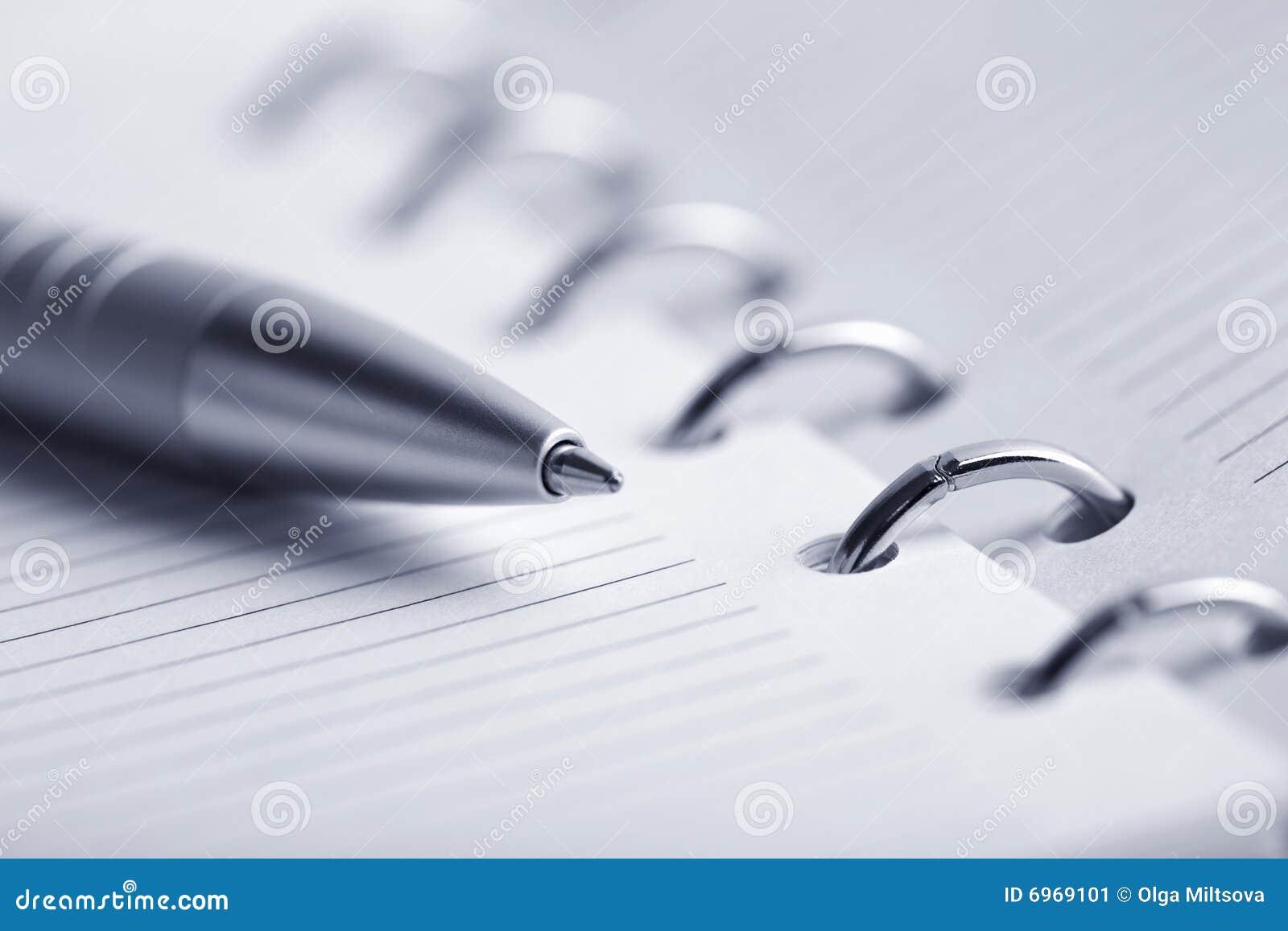 Blank pennplanner