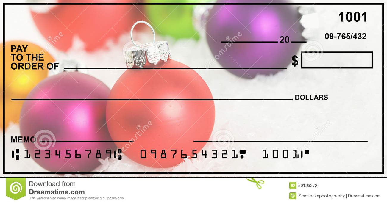 This is a picture of Declarative Printable Personal Checks