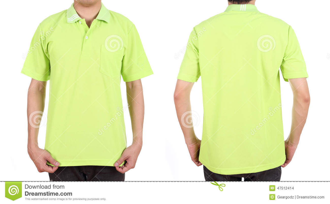 T Shirt Organizer Pics For Gt Green Polo Shirt Front And Back