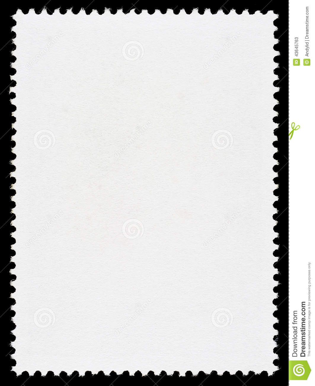 Royalty Free Stock Photo. Download Blank Postage Stamp Template ...