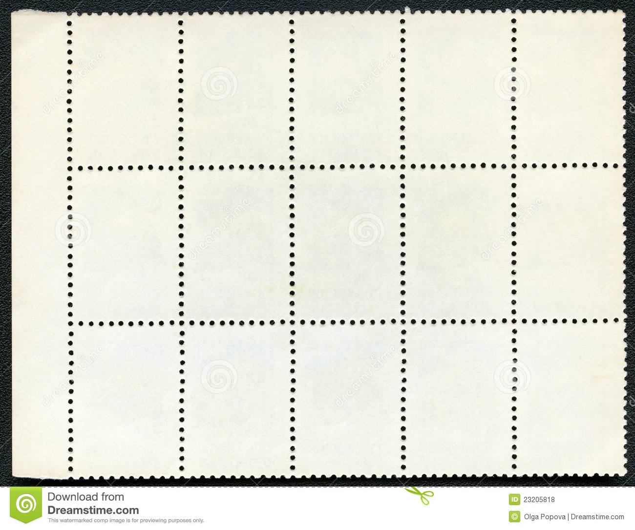 Italian handwritten postcard letter stock photo image 39254147 - Blank Postage Stamps Block Of Blank Mail Stamp