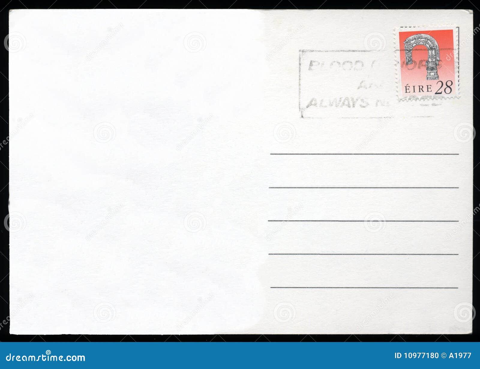 blank postcard stock photo image of meter europe grunge 10977180