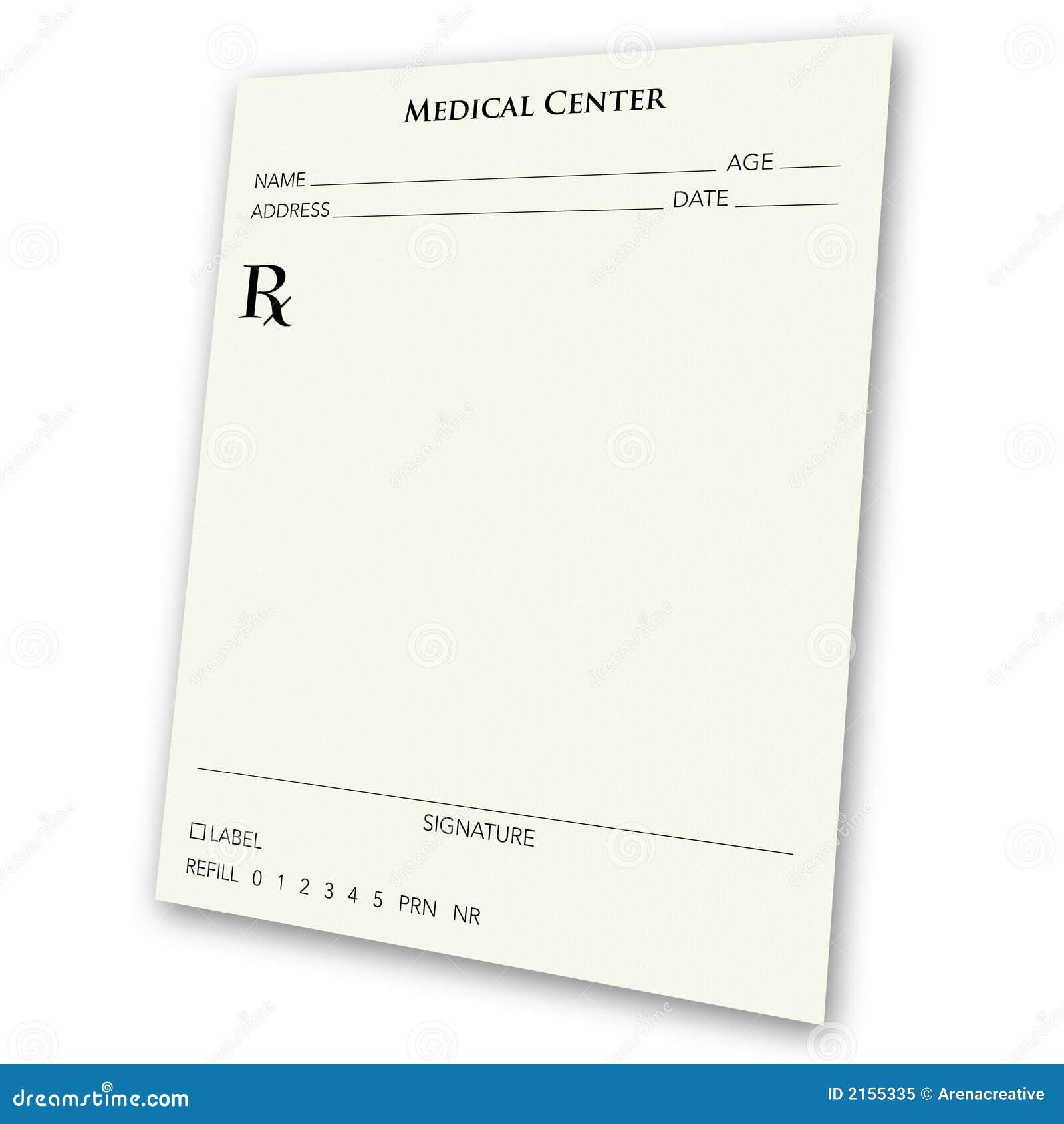 prescription pad template download - the gallery for prescription label template