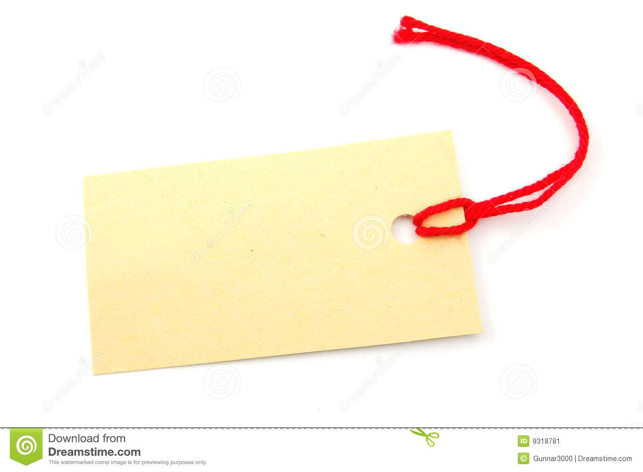 This Tag: Blank Price Tag Stock Image. Image Of Business, Note