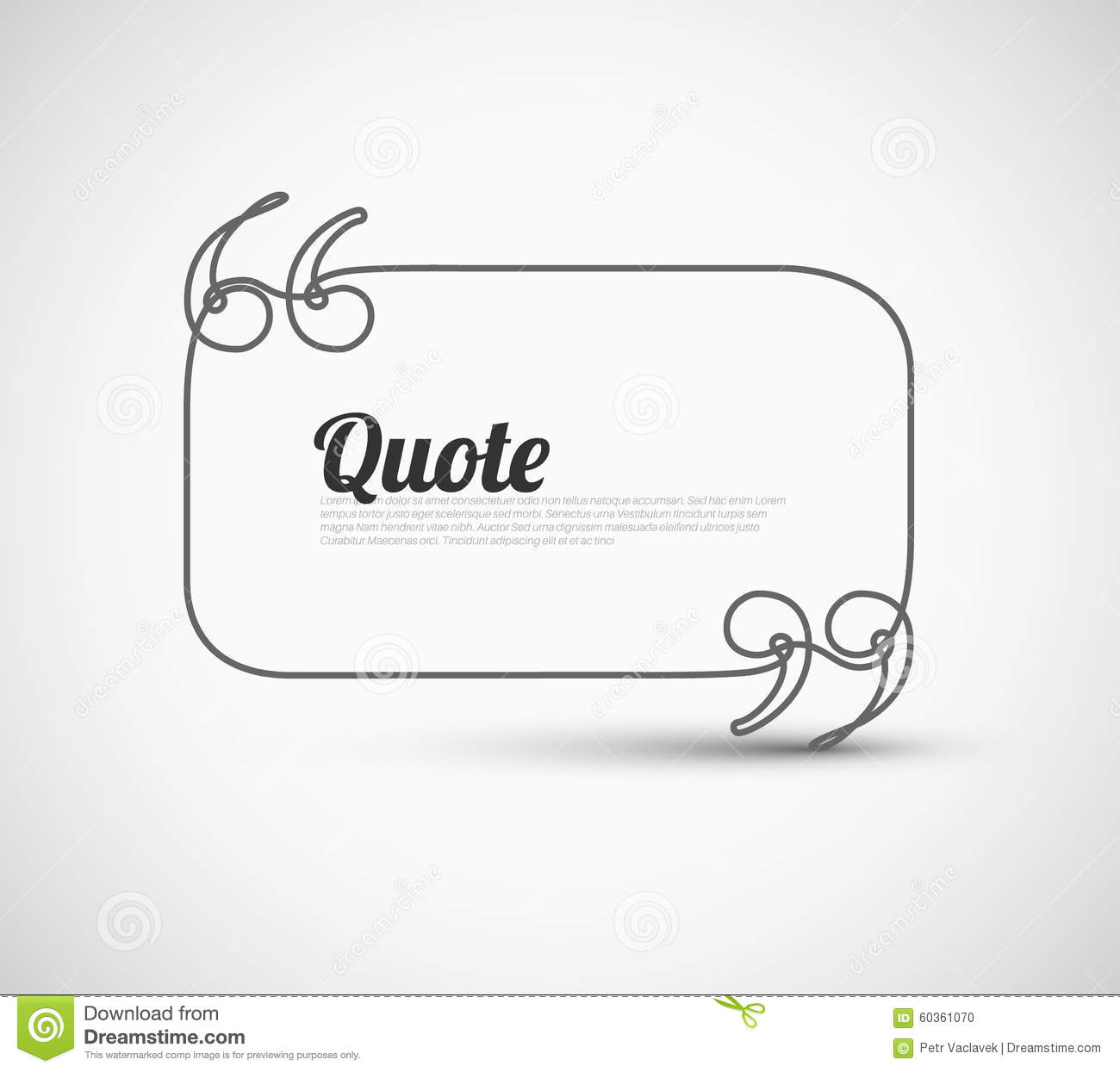 blank quote template printable editable blank calendar 2017 blank quote template stock illustration image 60361070