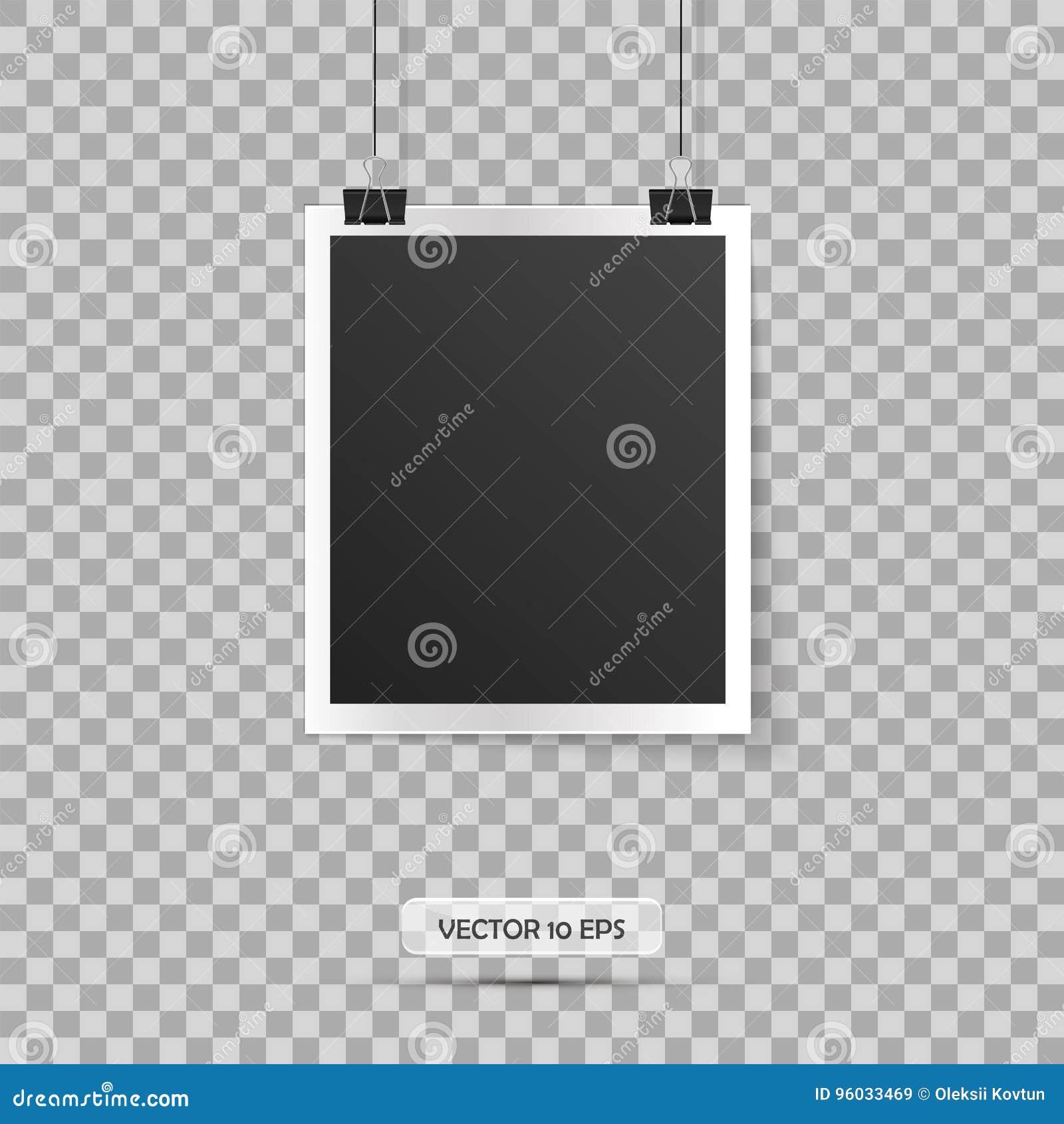 Blank ramowej zdjęcie Wektorowa ilustracja, eps 10 ilustracyjny retro stylu wektoru rocznik Miejsce dla twój teksta