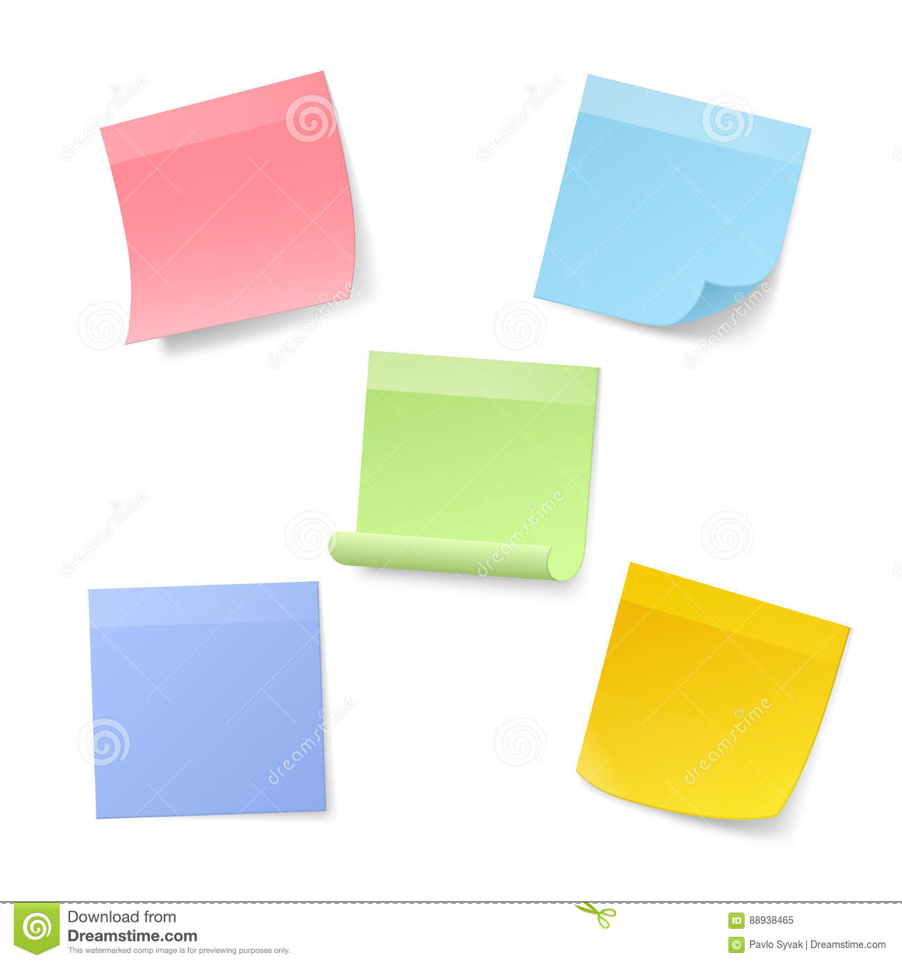 Free vector graphic sticky note note info paper free image on - Royalty Free Vector Blank Illustration Note Realistic Sticky Vector Pad Pin Sheet Isolated Graphic Notepaper Paper