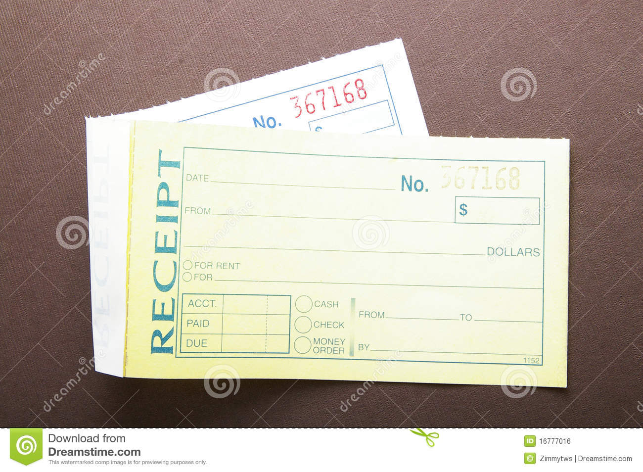 Blank Receipts Royalty Free Image Image 16777016 – Blank Receipt