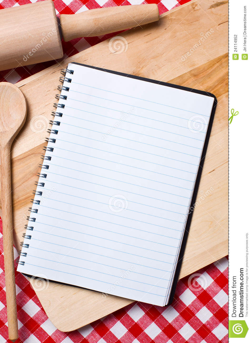 blank recipe book stock photo  image of fresh  cookery