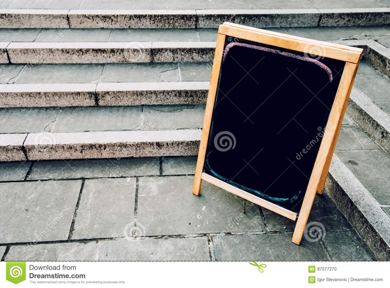 blank restaurant or bar menu chalkboard stock photo - image of space