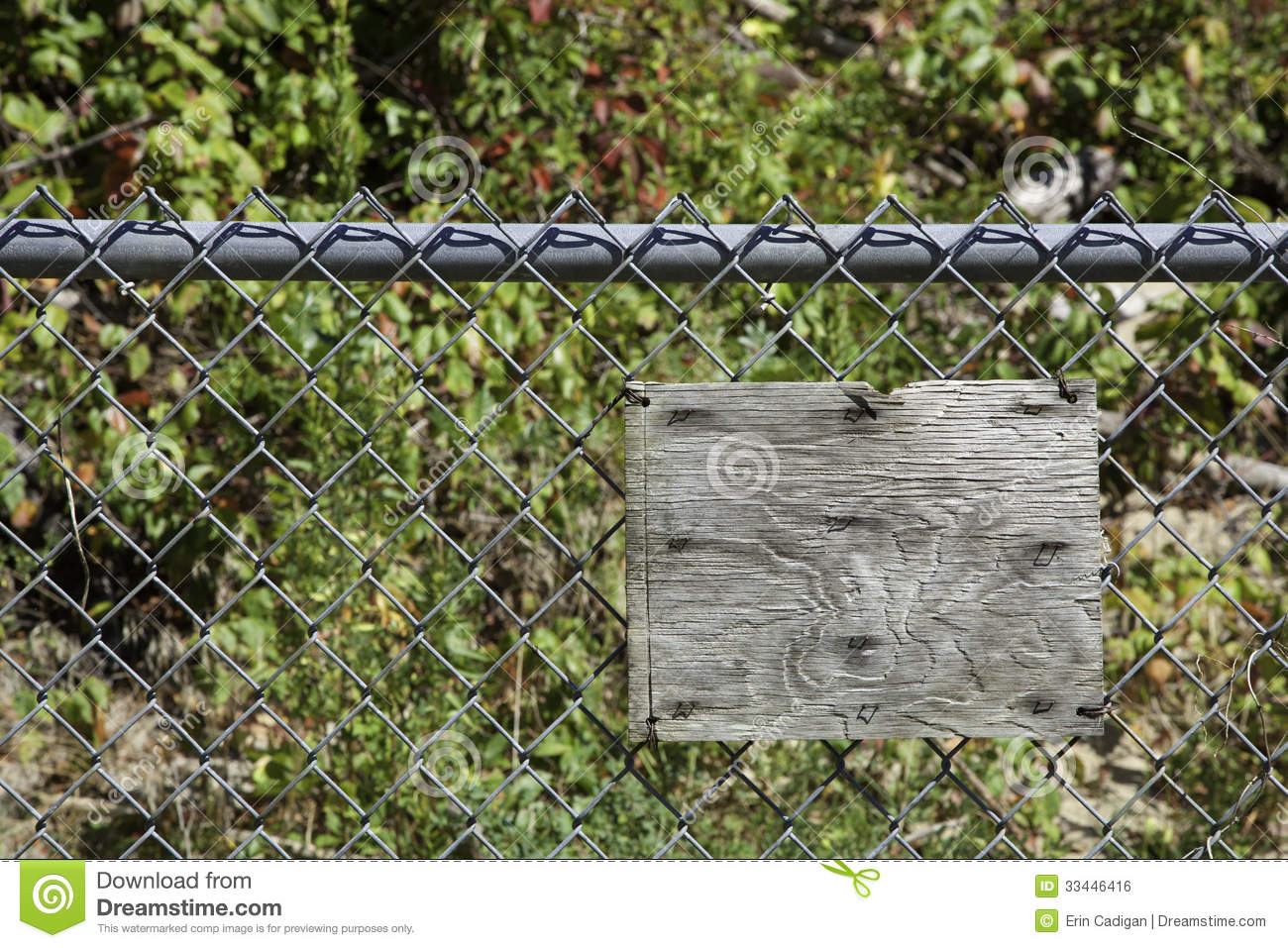 Chain link fence stock image cartoondealer