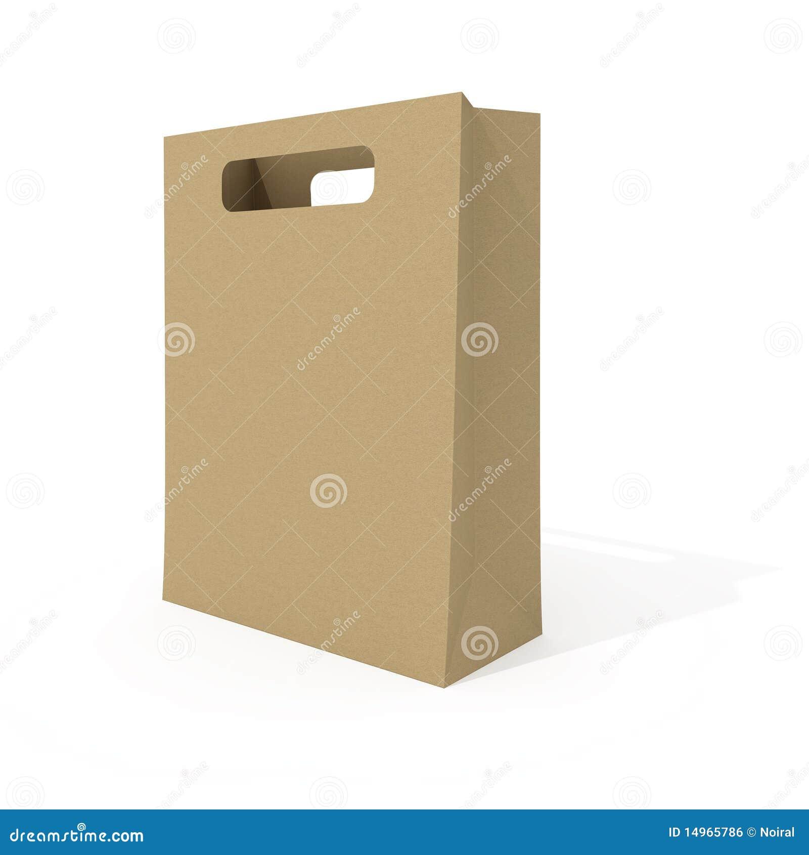 Blank Shopping Bag Royalty Free Stock Image - Image: 14965786