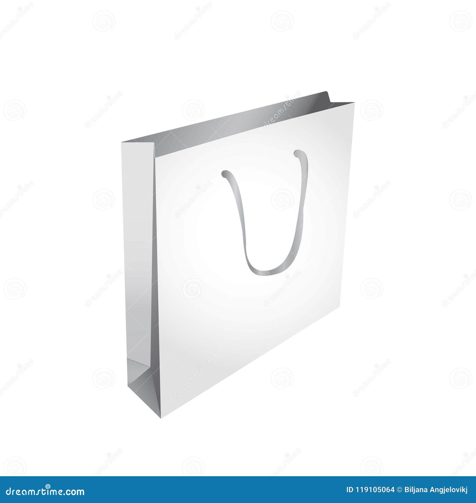 796c2d414f3 Blank Shopping Bag