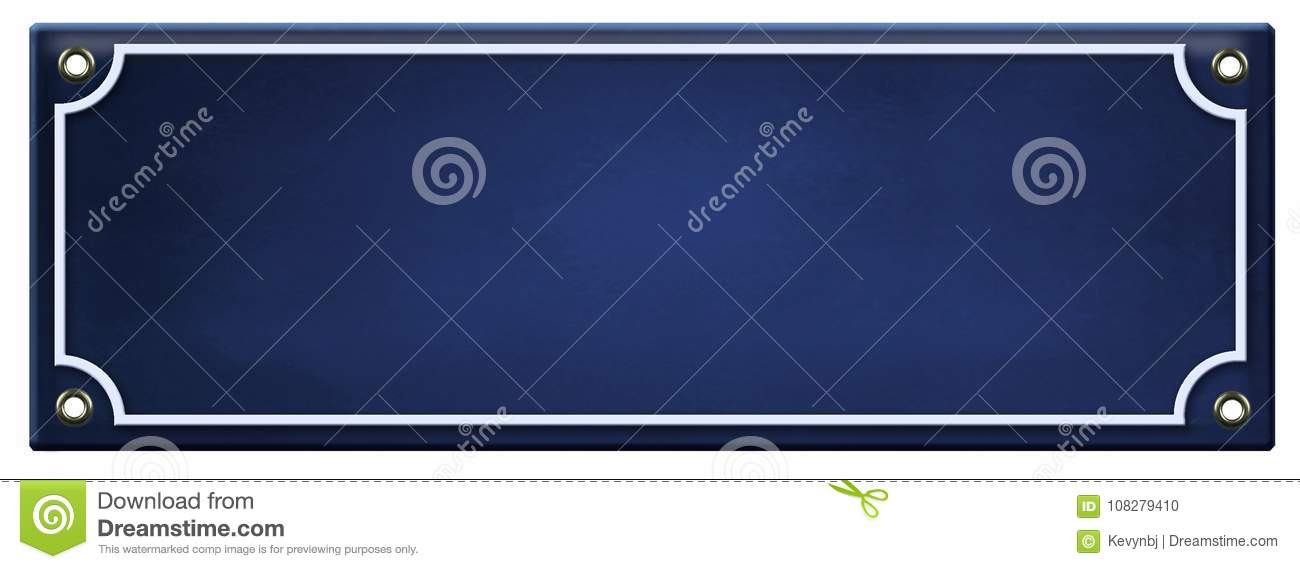 blank sign template enamel stock photo image of rusty 108279410