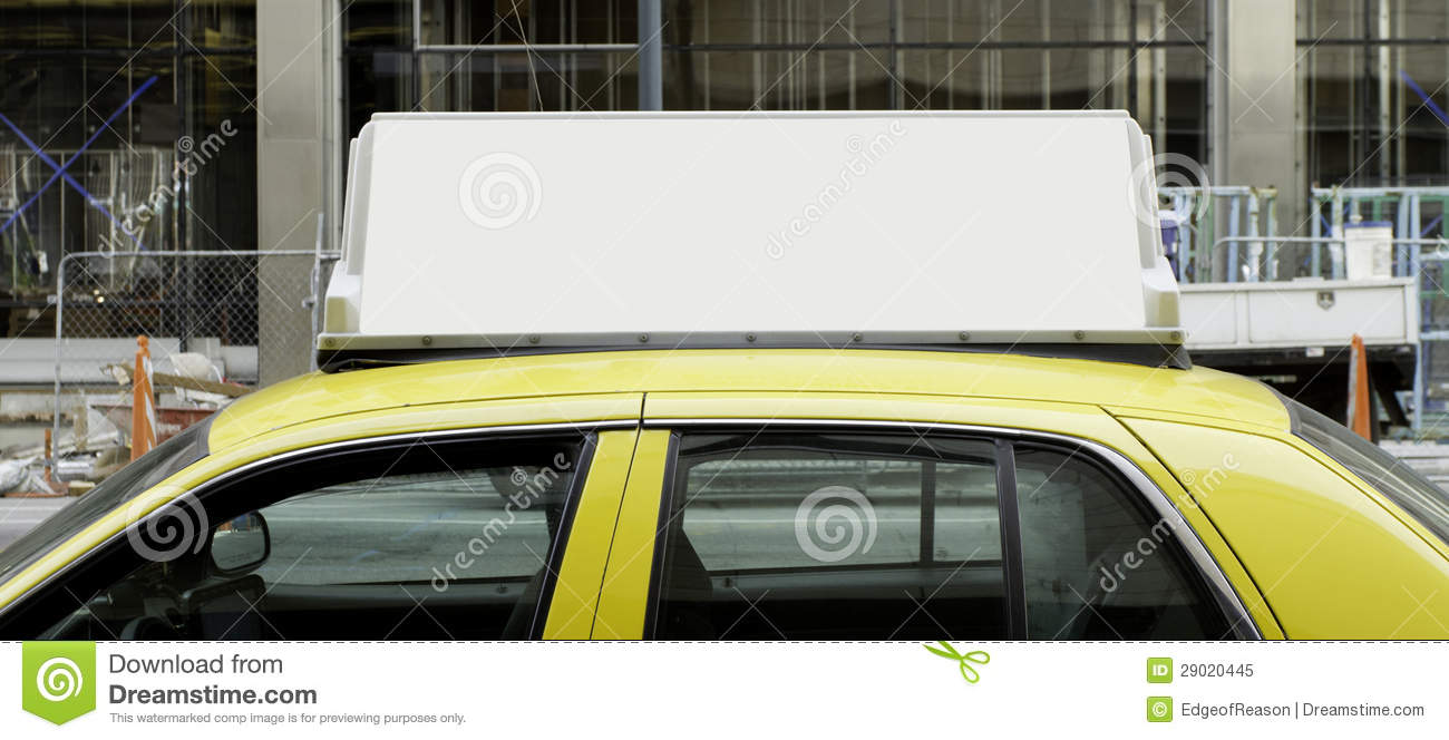 A Sample Taxi Cab Business Plan Template