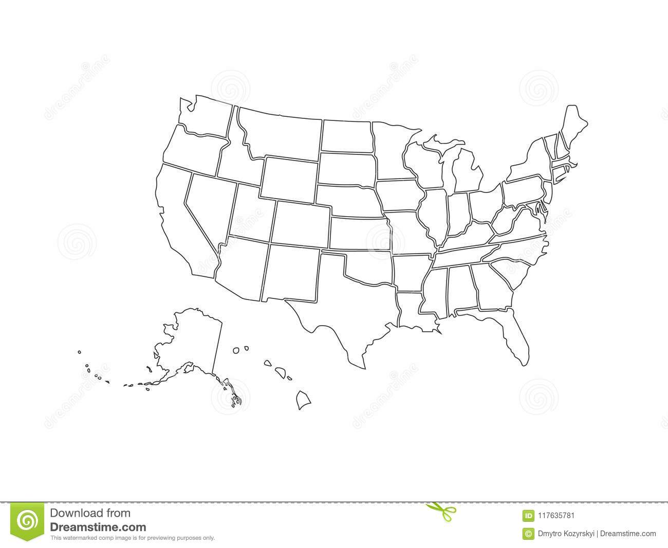 Blank Similar USA Map Isolated On White Background. United ... on map of idaho balanced rock, map showing counties of idaho, map of idaho showing cities, map of idaho and montana, map of great basin usa, map of madison usa, map of sandpoint idaho and surrounding area, map of rocky mountains in idaho, map of osburn idaho, map of southern idaho, map of tensed idaho, map of jamaica usa, map of idaho capitol building, driggs idaho map usa, map of state of washington usa, map of northern idaho, map of idaho state, map of northwest territory usa, map of san antonio usa, map of idaho college,