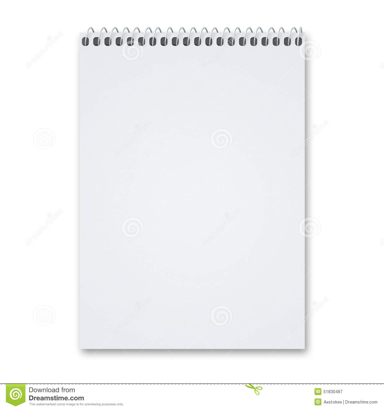 Blank sketch pad stock photo image 51830487 for Sketchpad com