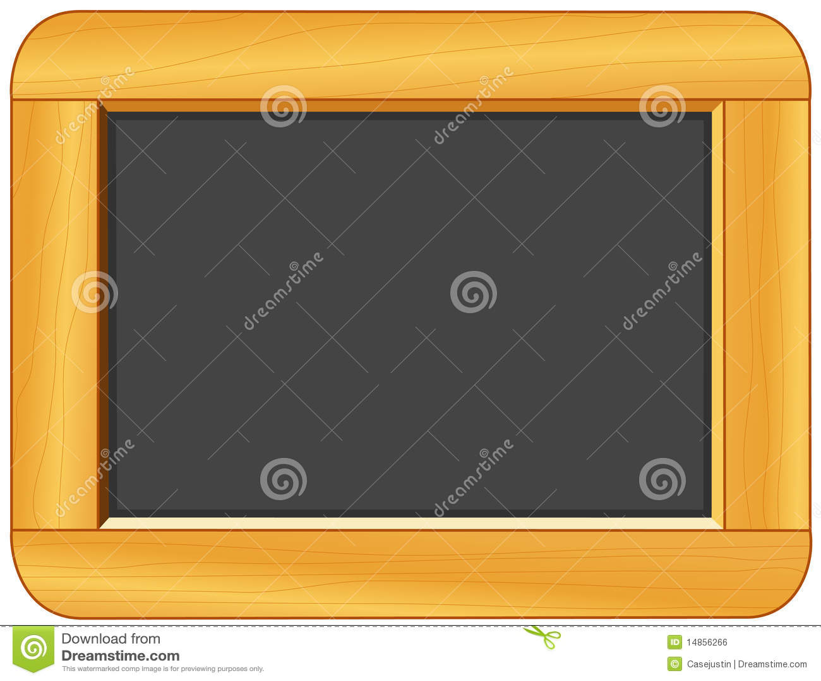 Chalkboard, Blank Slate, Add Your Own Text