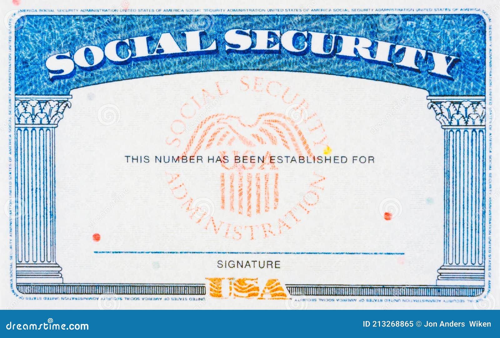 21 Blank Social Security Card Photos - Free & Royalty-Free Stock Regarding Editable Social Security Card Template
