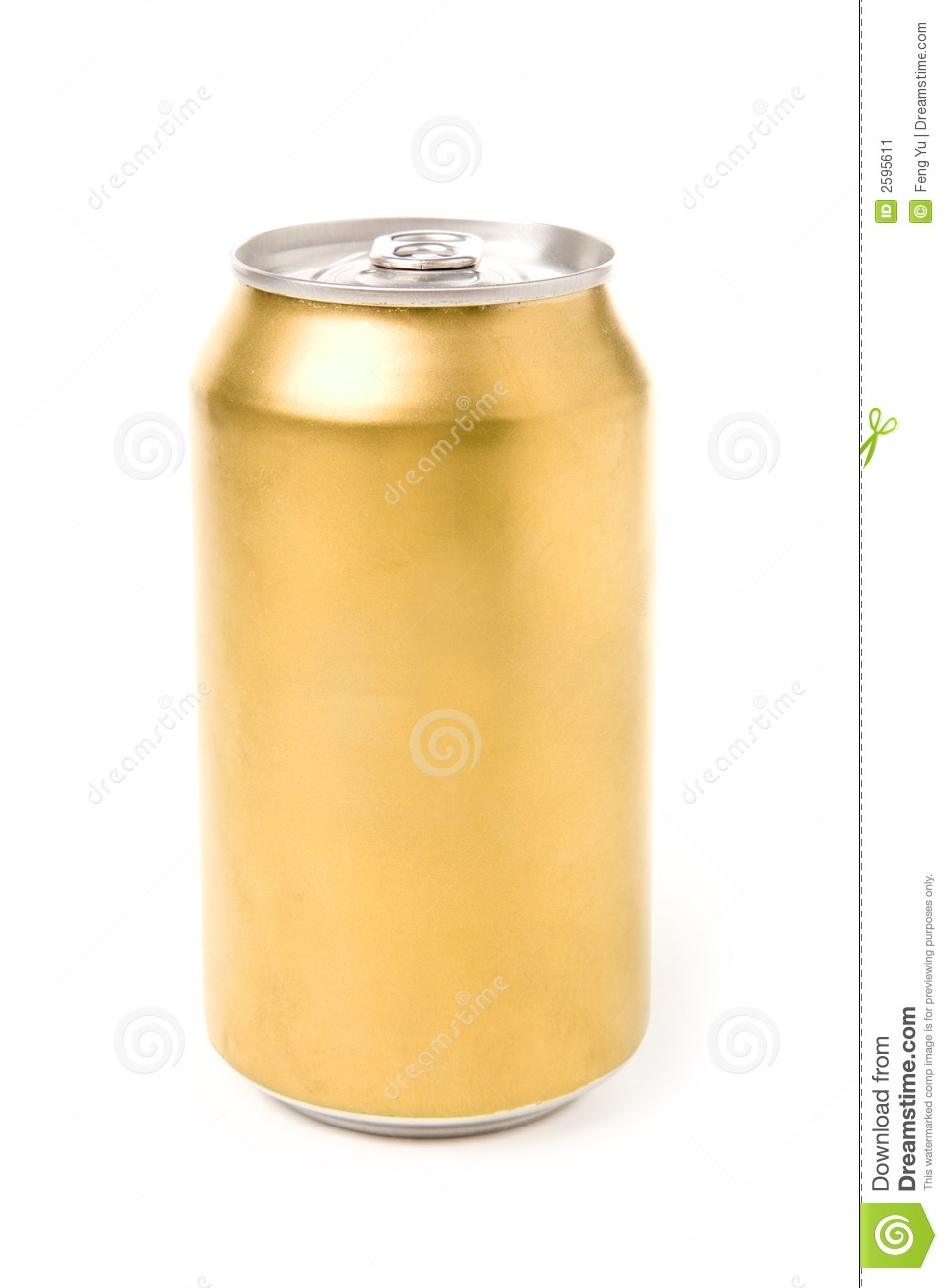 Blank Soda Can Stock Image - Image: 2595611