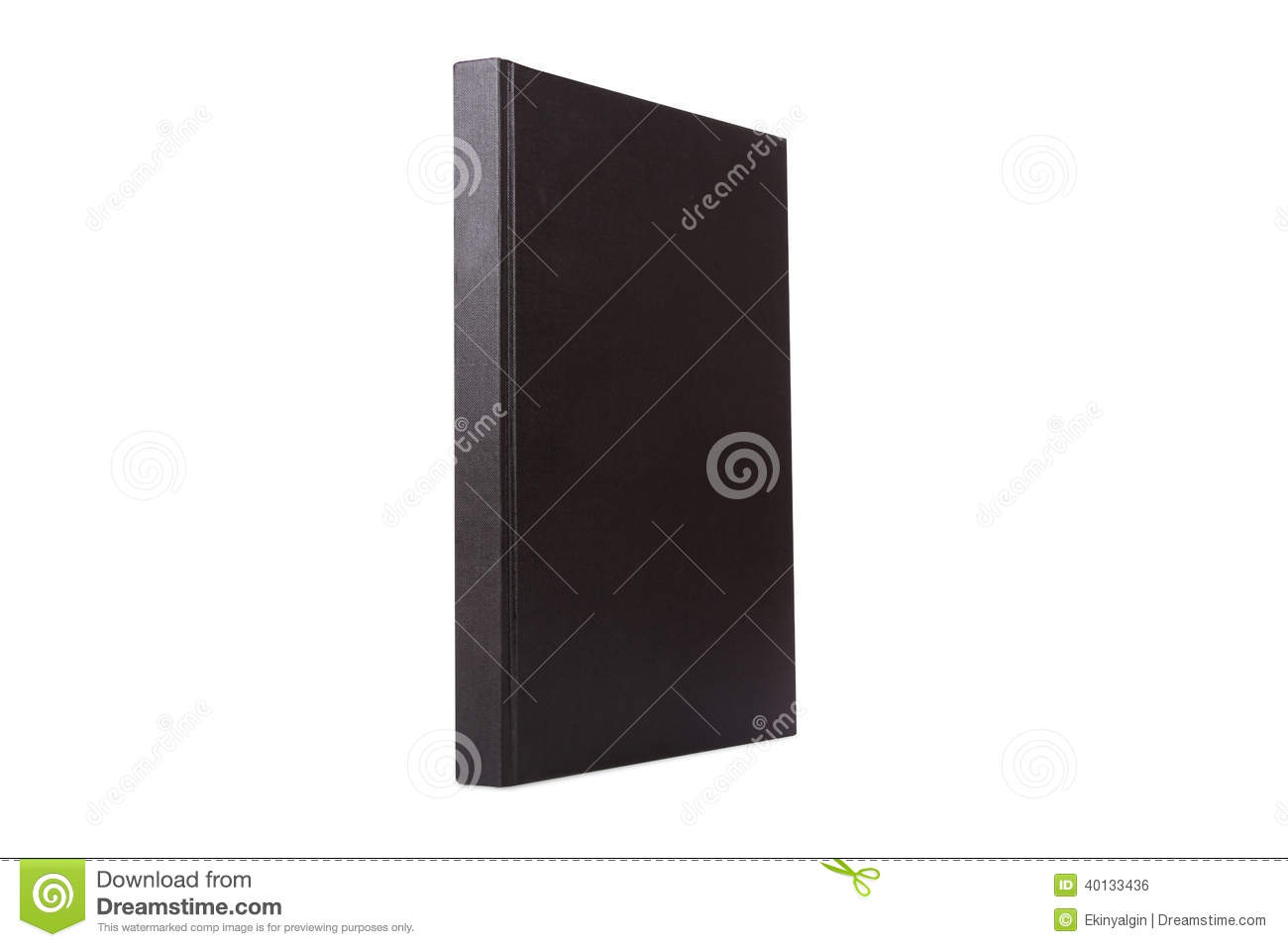 Blank Standing Book stock photo. Image of nobody, library ...
